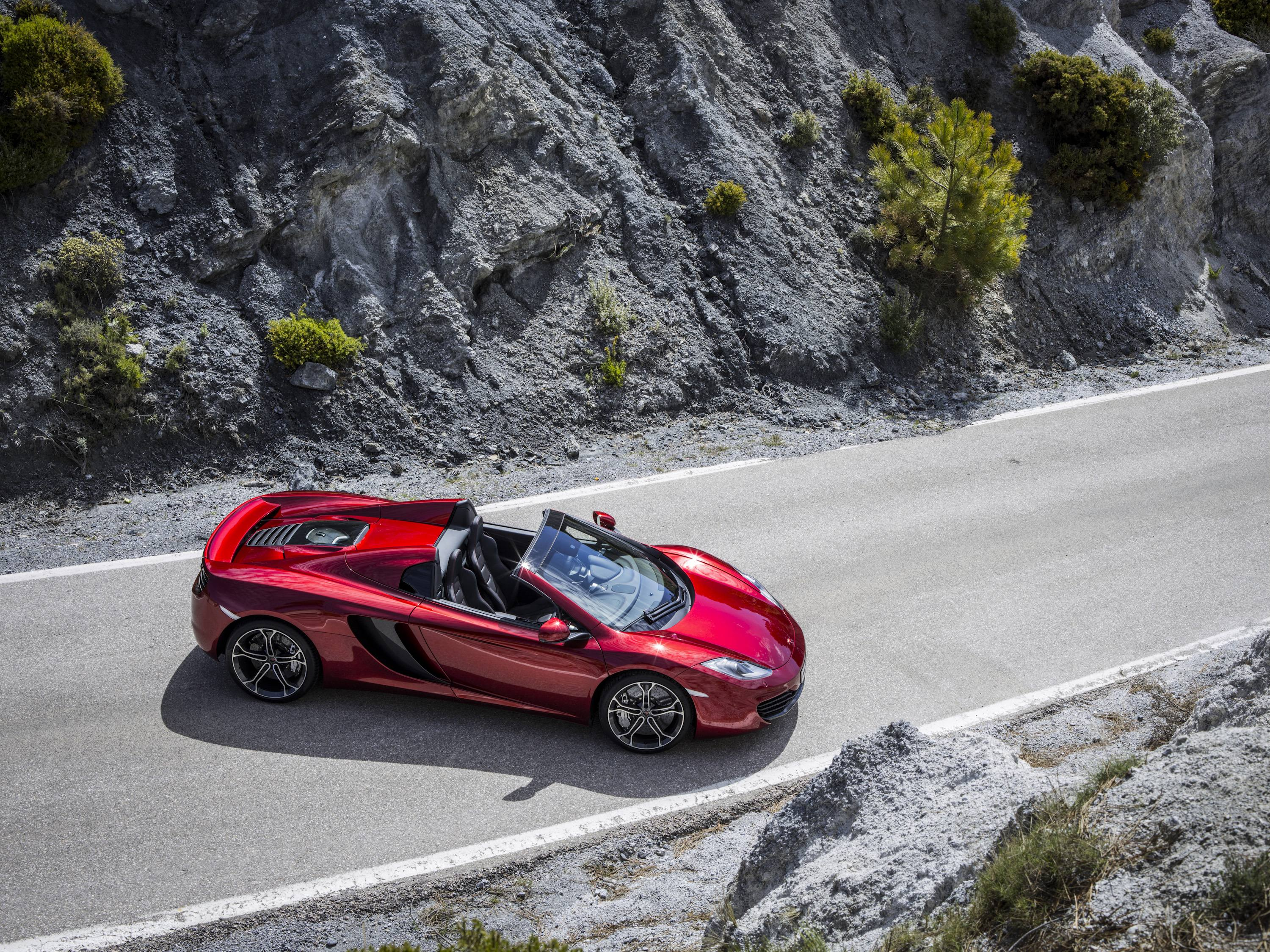 McLaren MP4-12C Spider Side