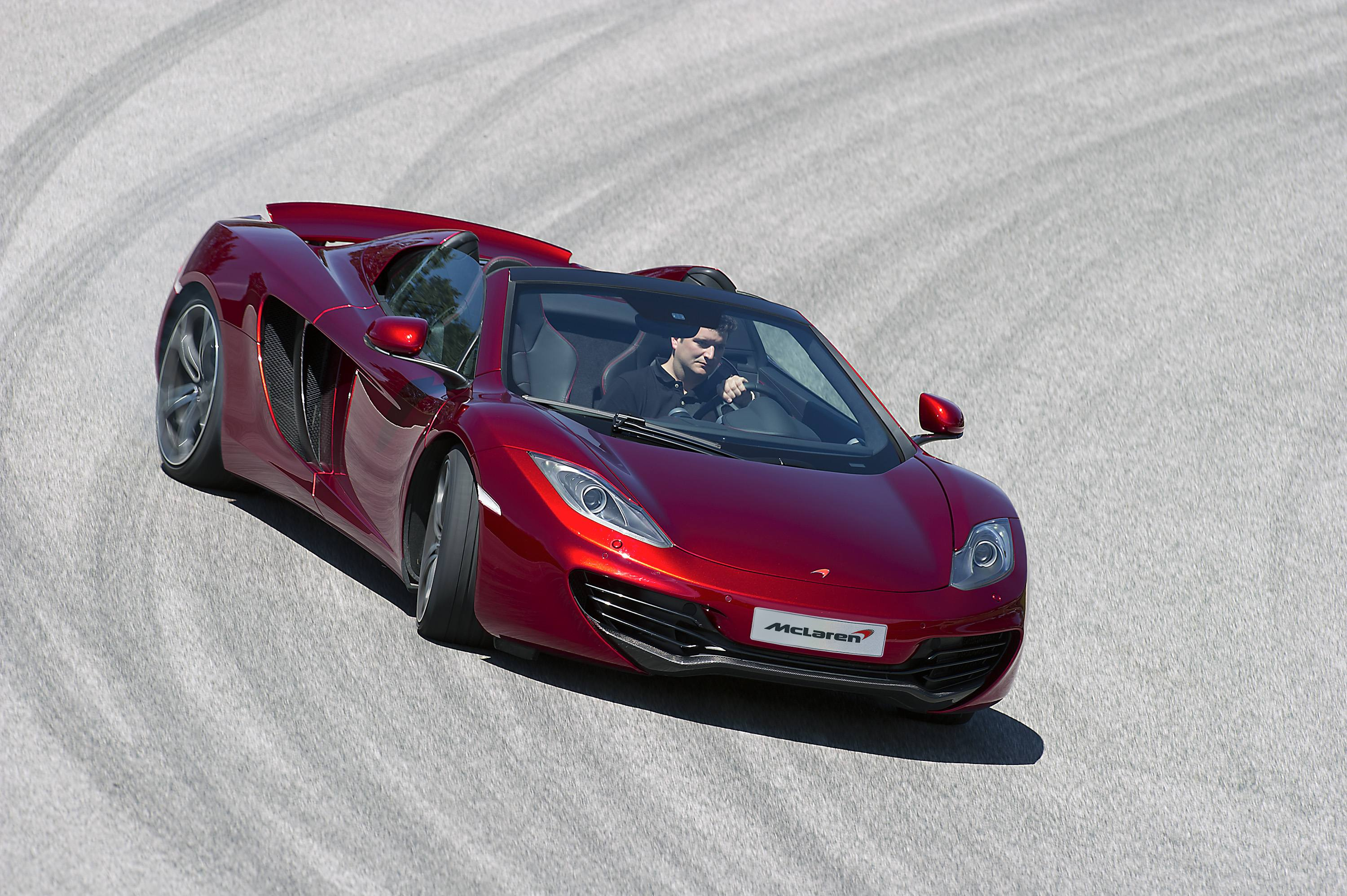 McLaren MP4-12C Spider Sliding