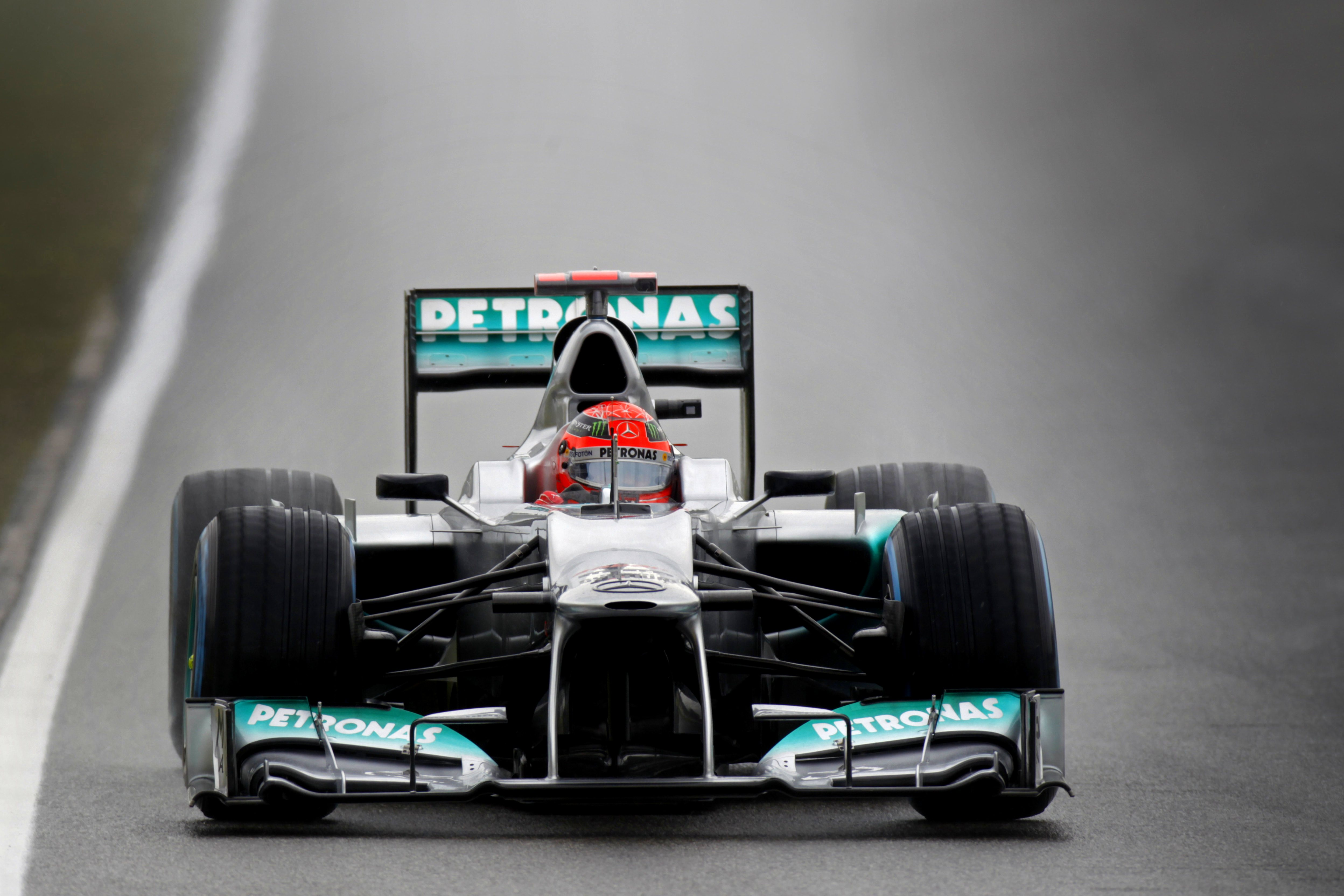 Michael Schumacher Front