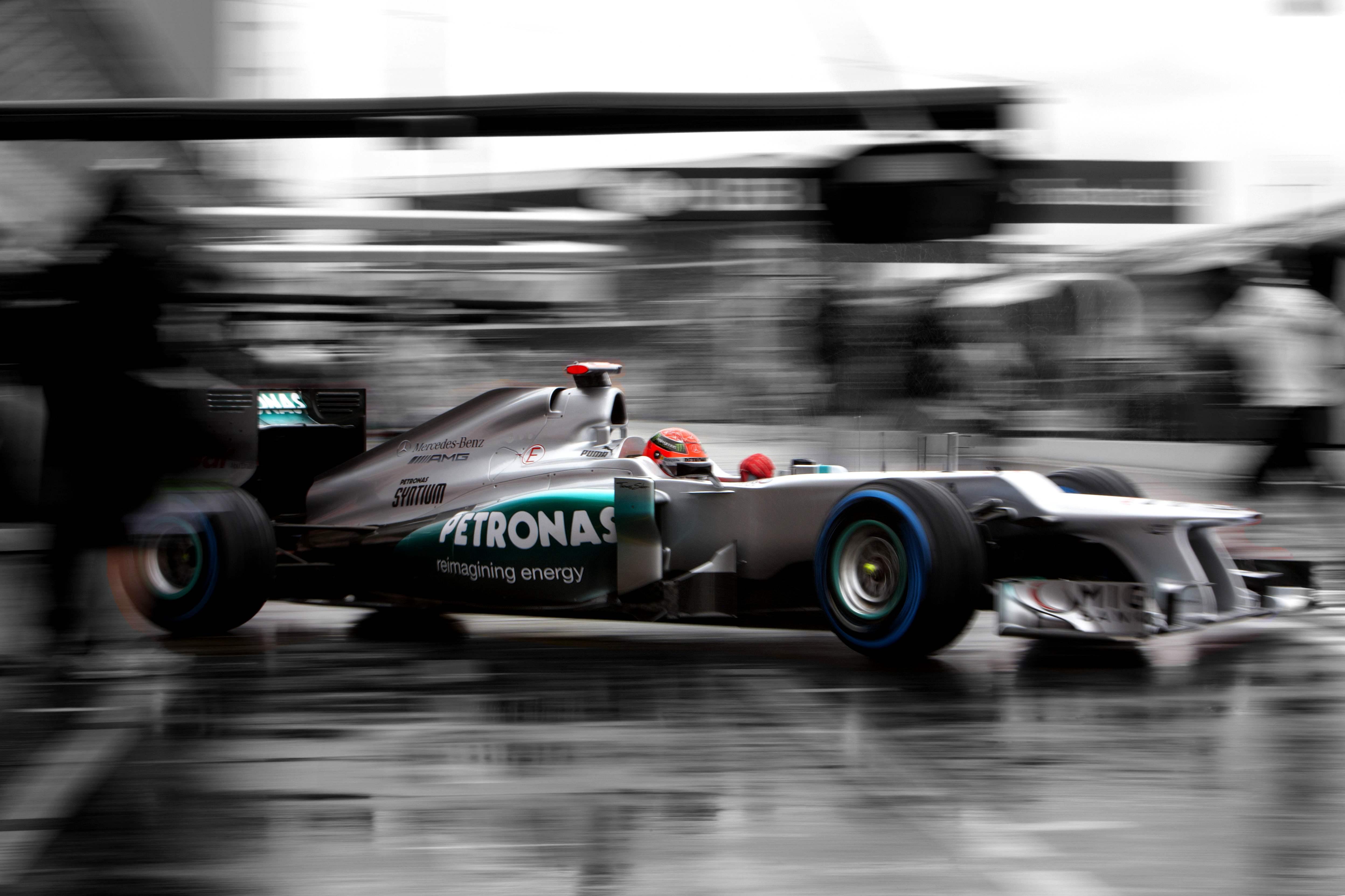 Michael Schumacher Pit