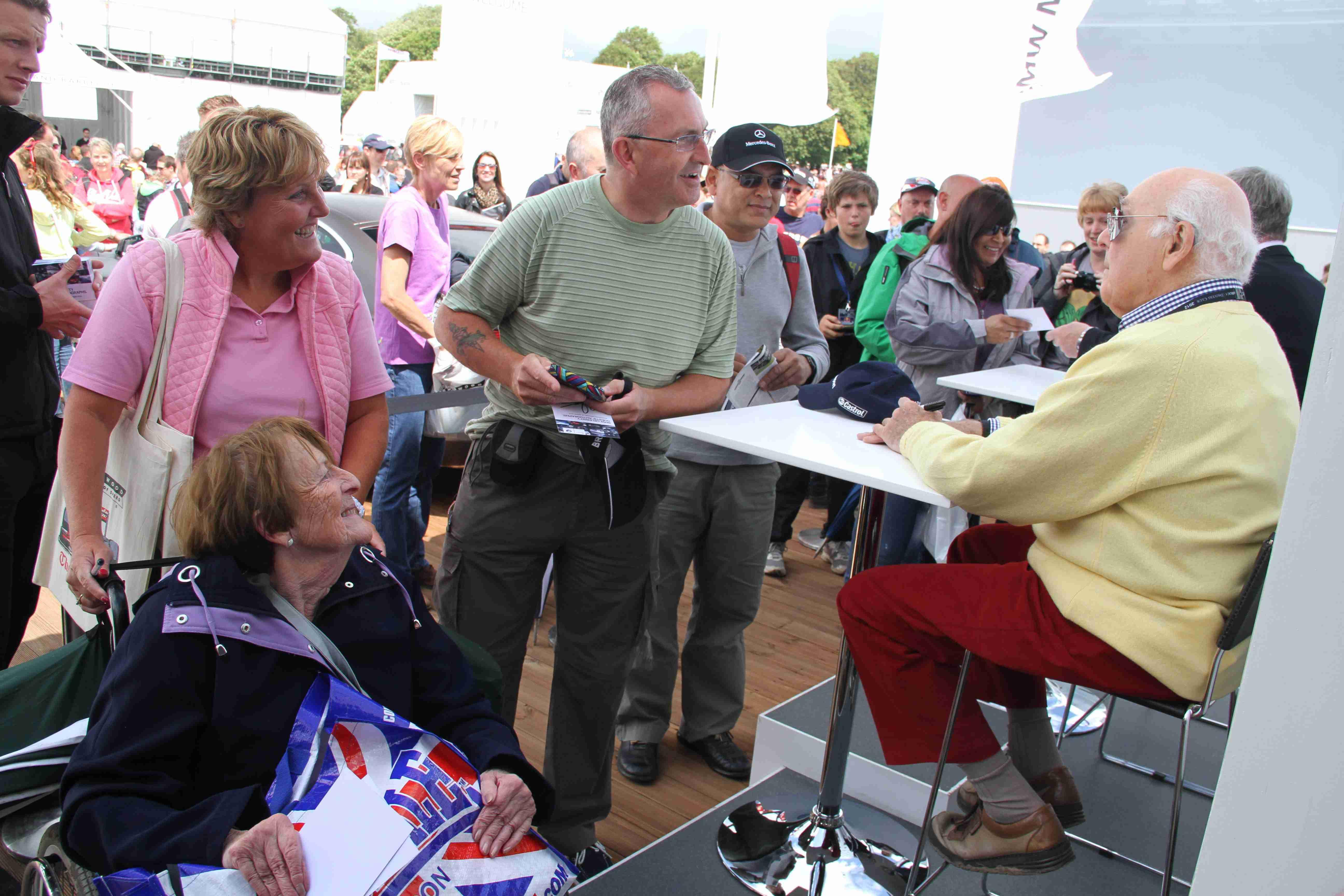 Murray Walker Signing 2