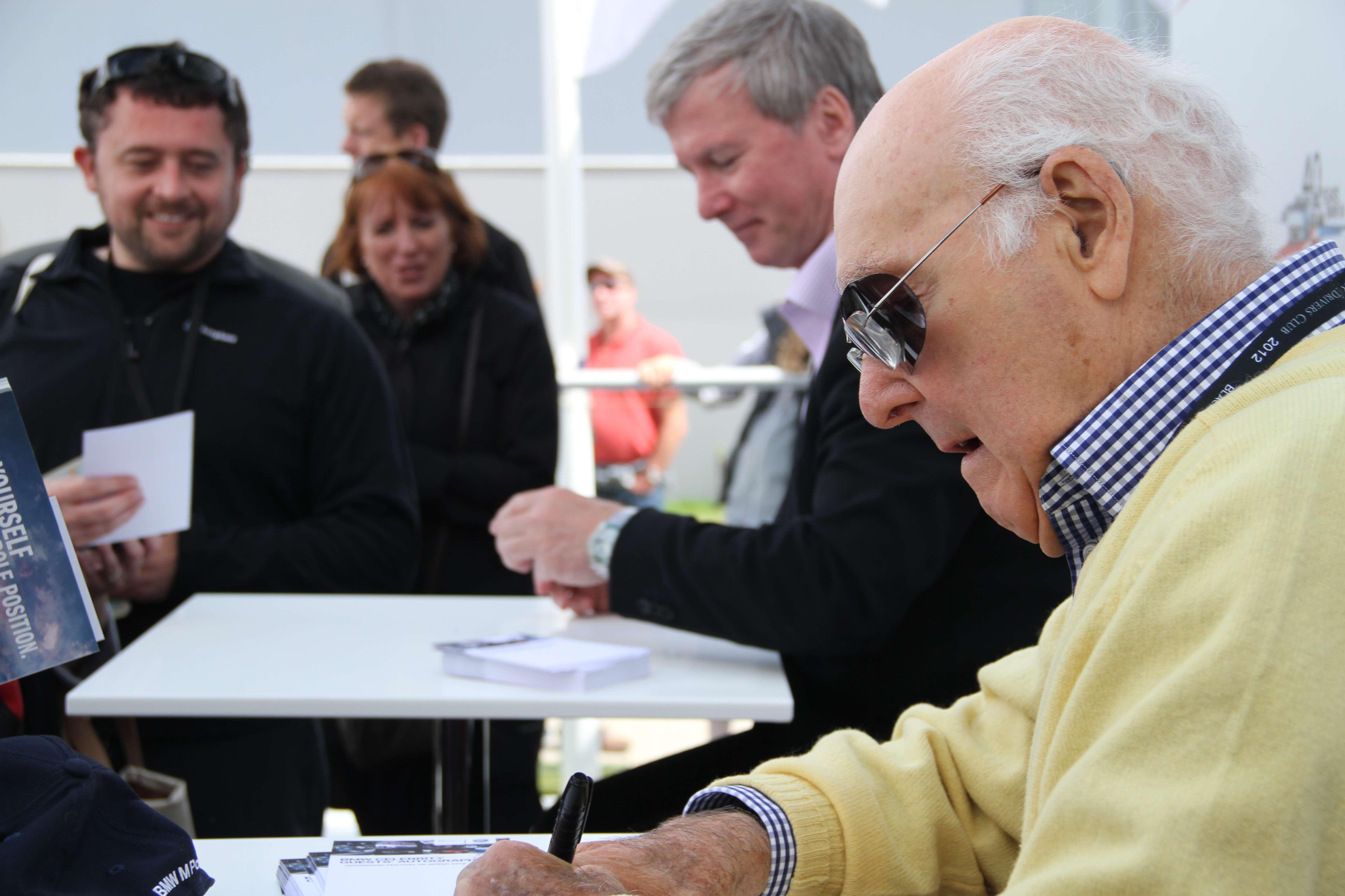 Murray Walker Signing