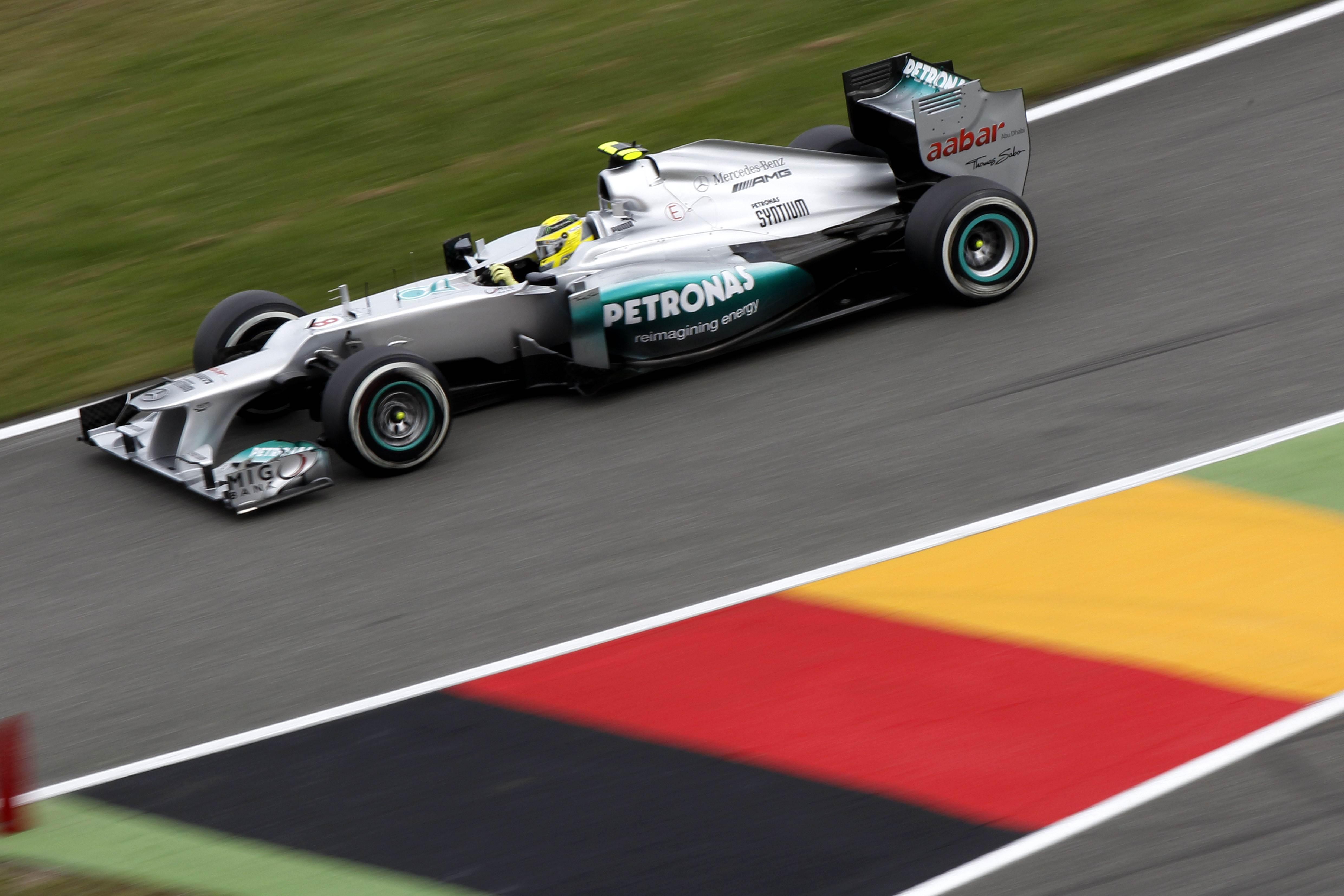 Nico Rosberg Pit