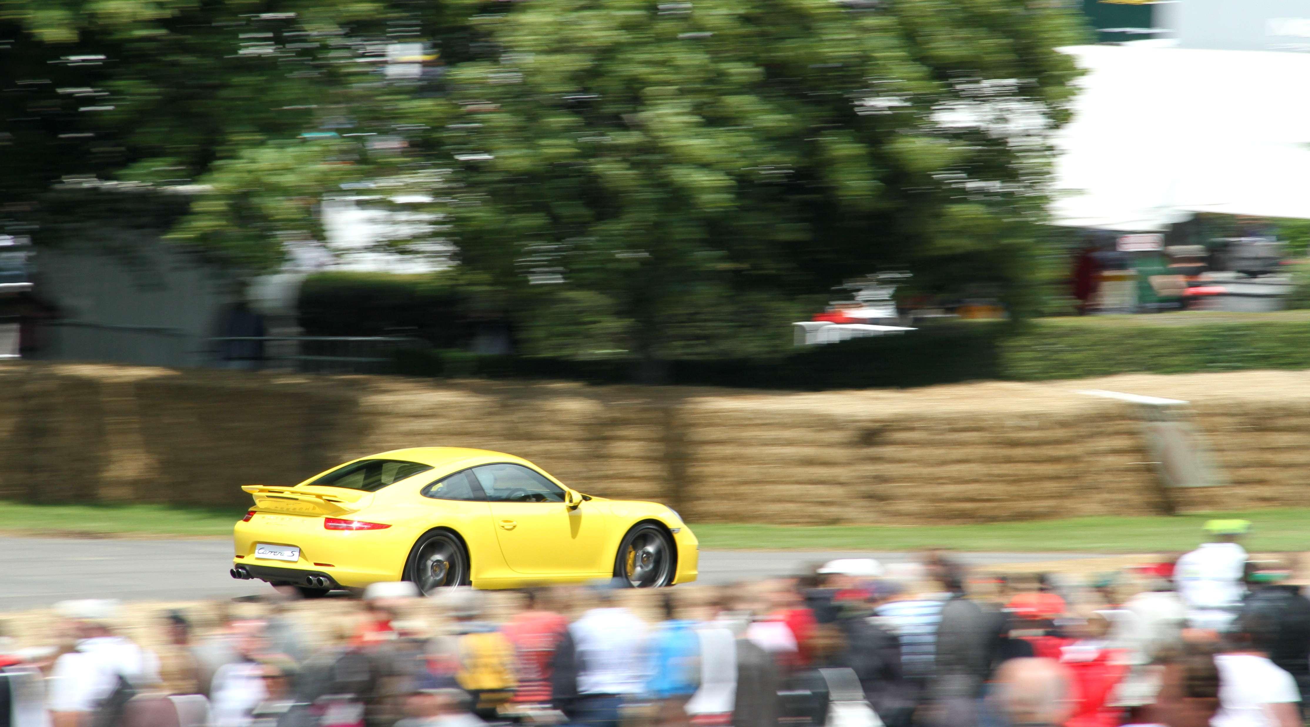 Porsche 991 Carrera 4S Rear