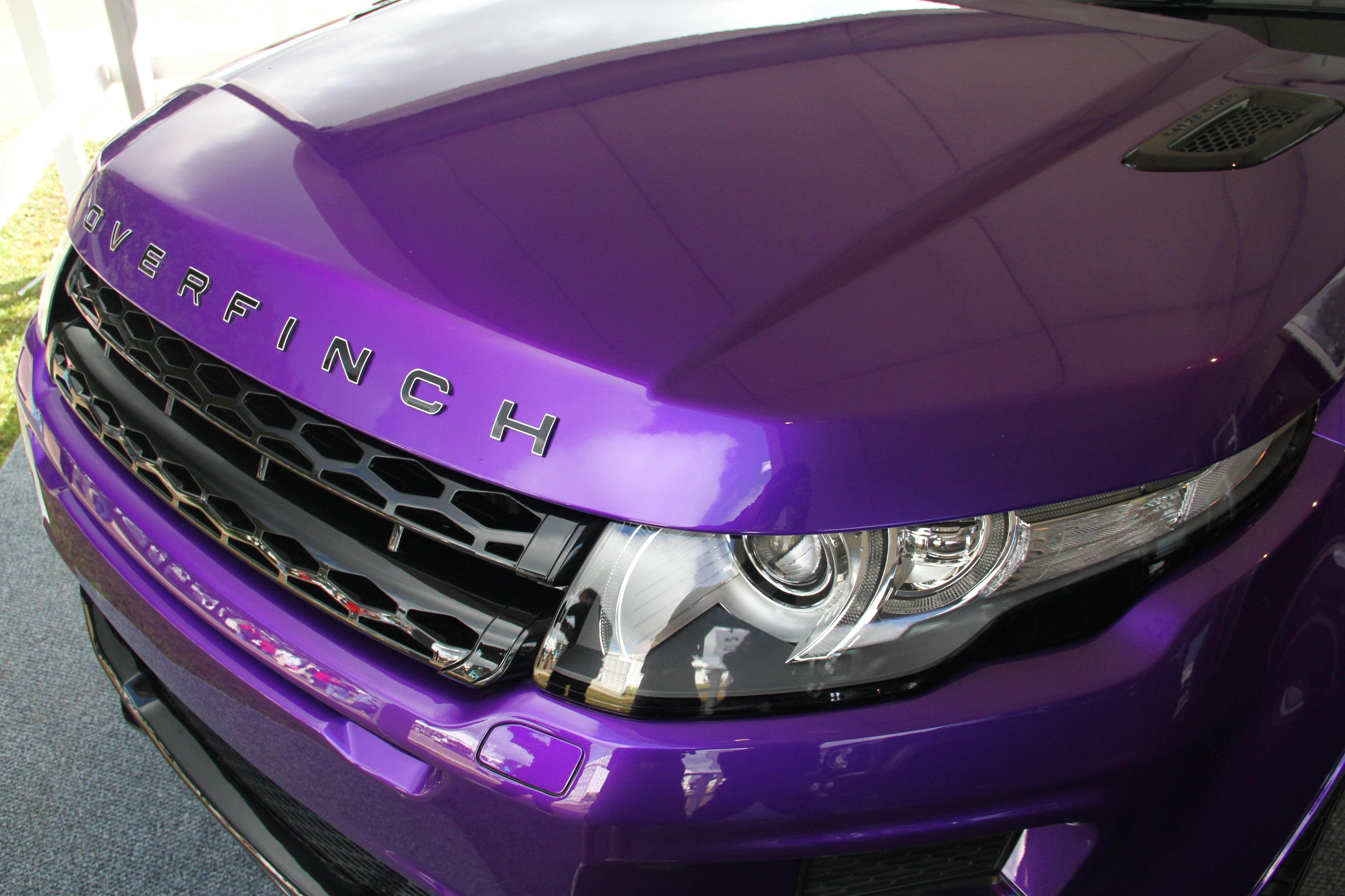 Range Rover Evoque Overfinch Front