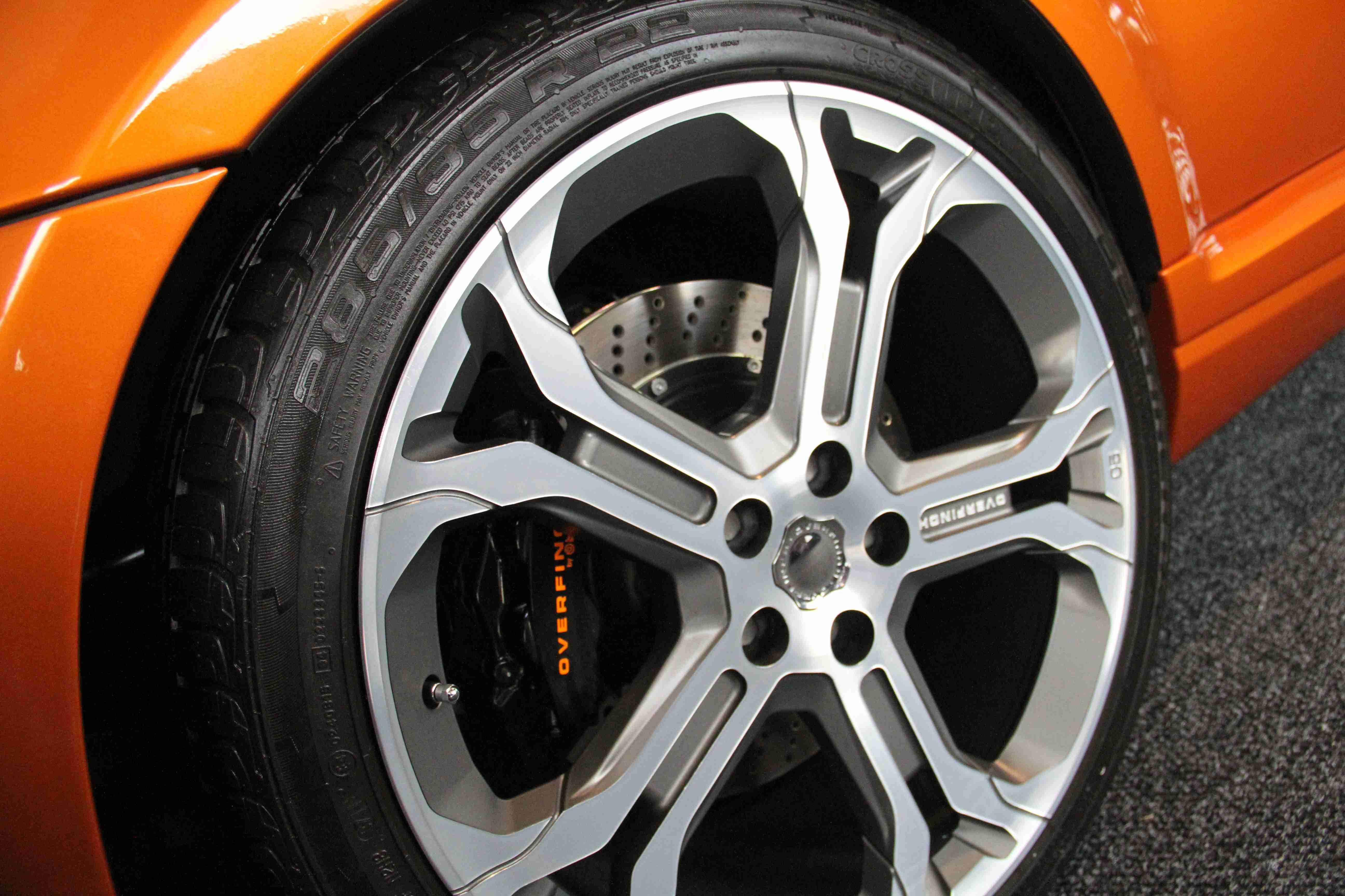 Range Rover Sport Overfinch Wheel