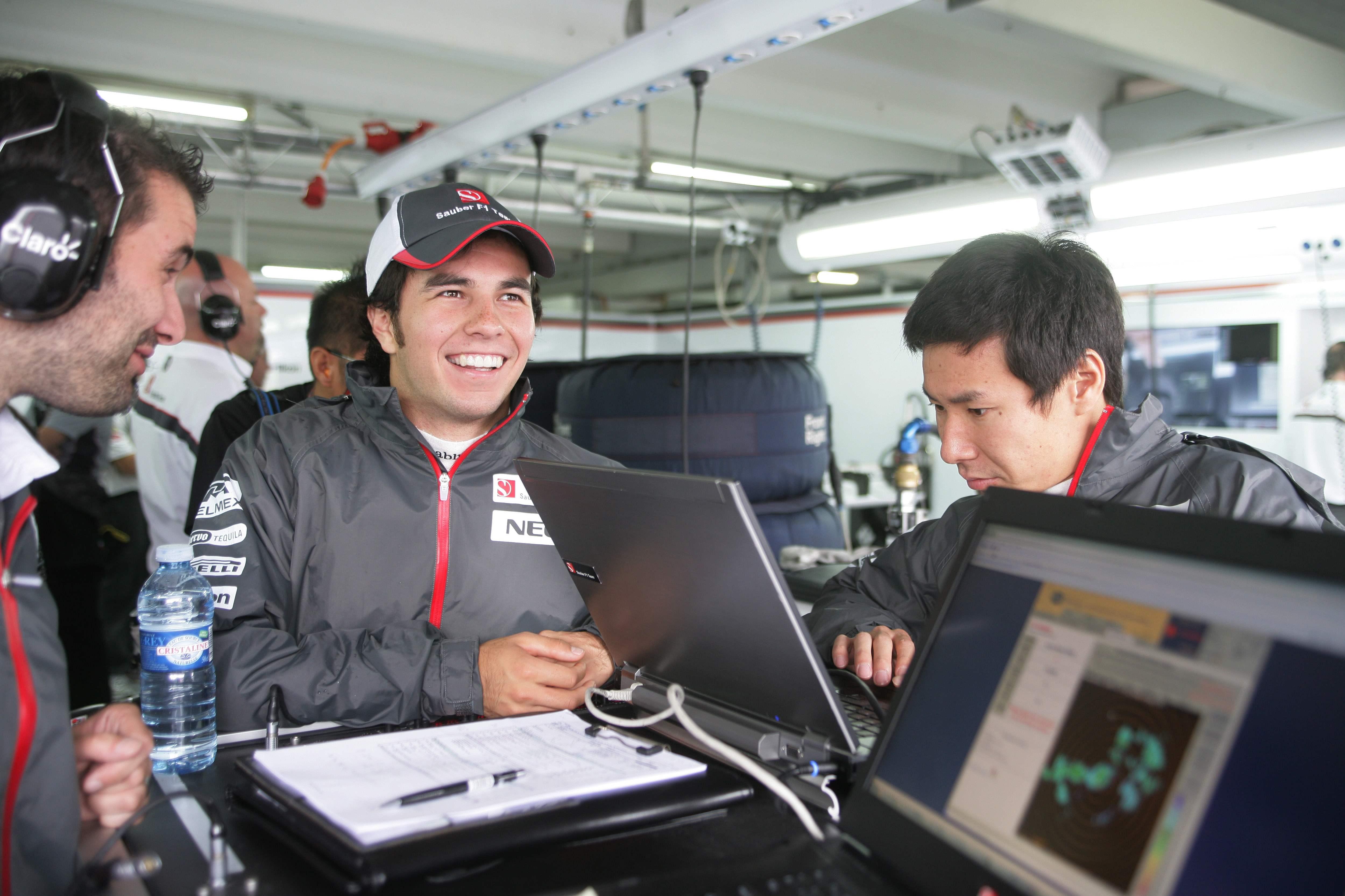 Sergio Perez Kamui Kobayashi