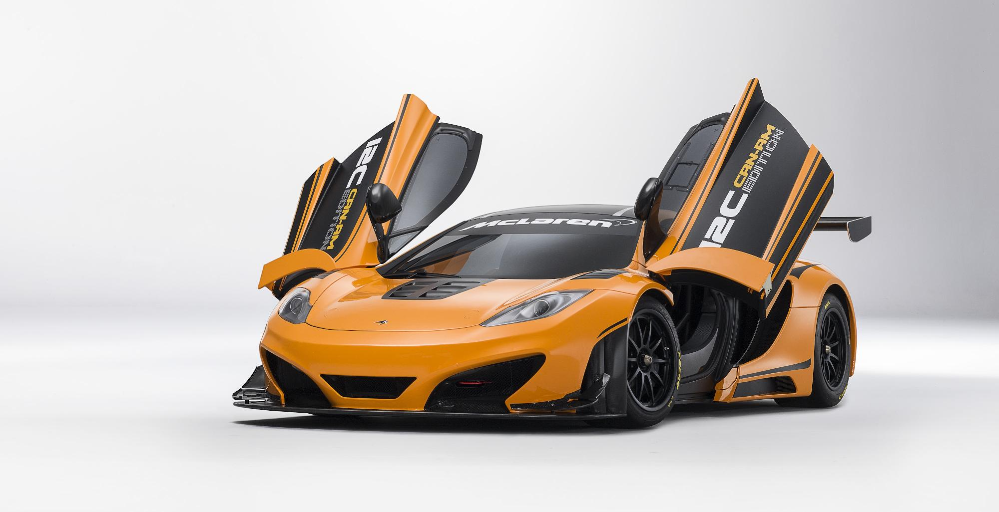 McLaren MP4-12C Can-Am Doors