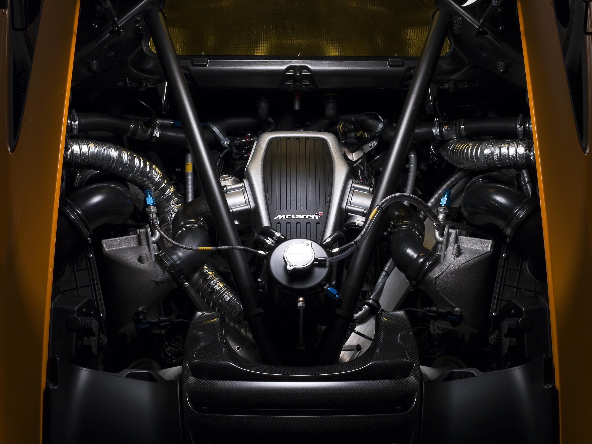 McLaren MP4-12C Can-Am Engine