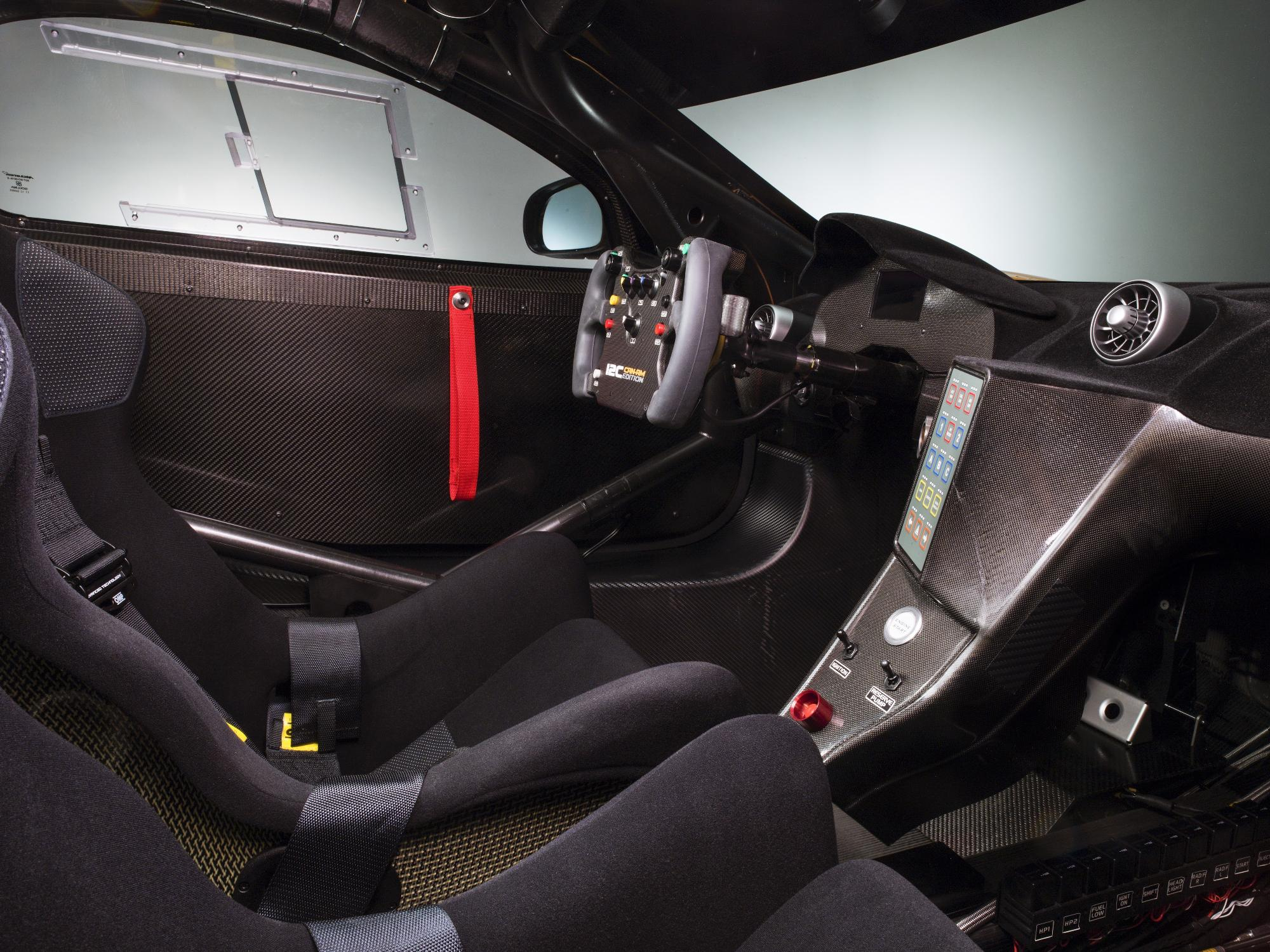 McLaren MP4-12C Can-Am Interior