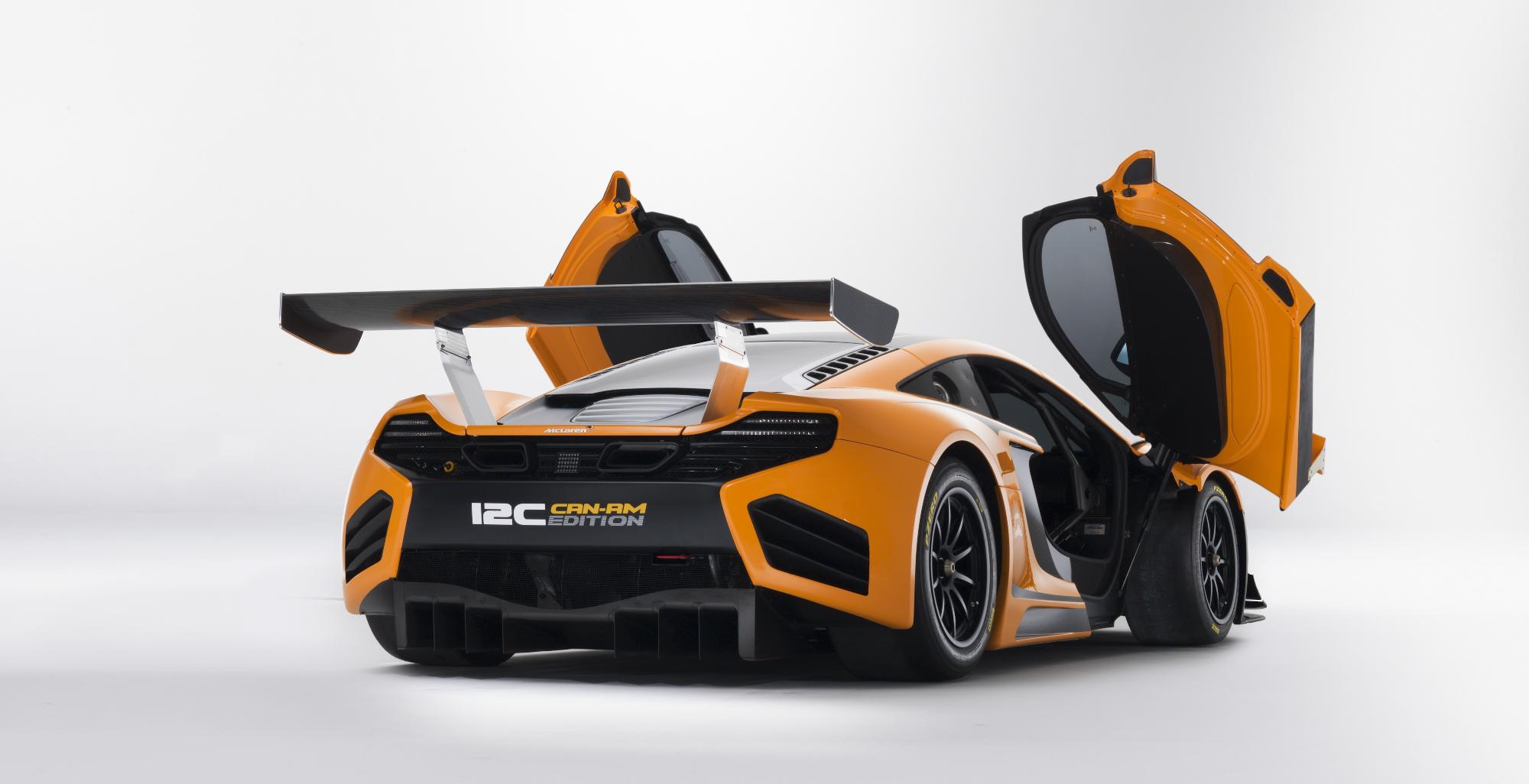 McLaren MP4-12C Can-Am Rear Doors