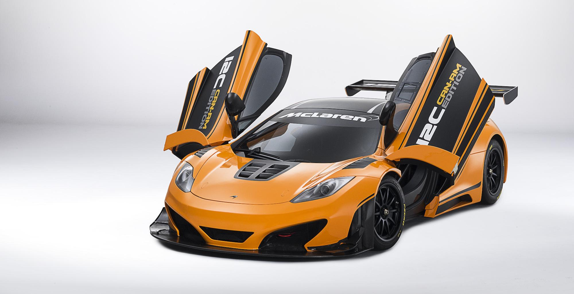 McLaren MP4-12C Can-Am Roof Doors