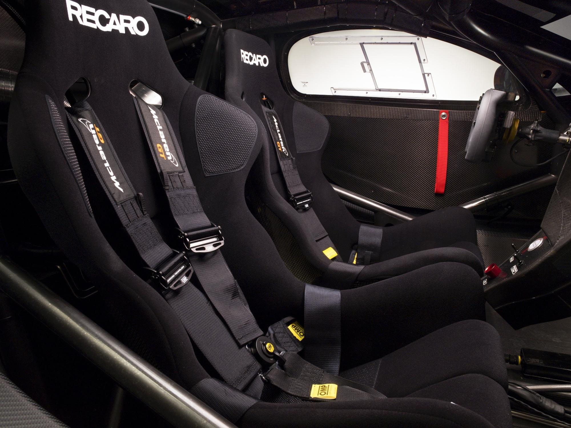 McLaren MP4-12C Can-Am Seats