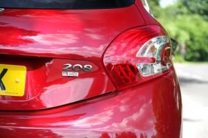 Peugeot 208 Badge