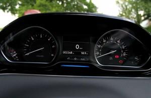 Peugeot 208 Dials