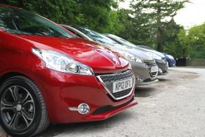 Peugeot 208 Front Line Up
