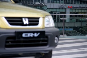 Honda CR-V Audi Munich Airport