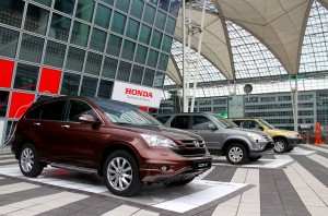 Honda CR-V Generations Line Up