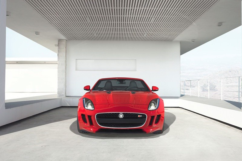 Jaguar_F-Type_Roadster_Front