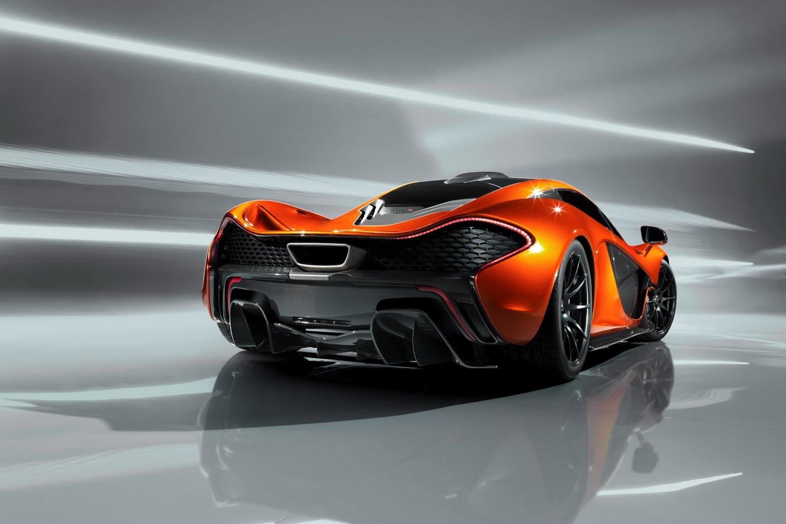 McLaren_P1_Rear
