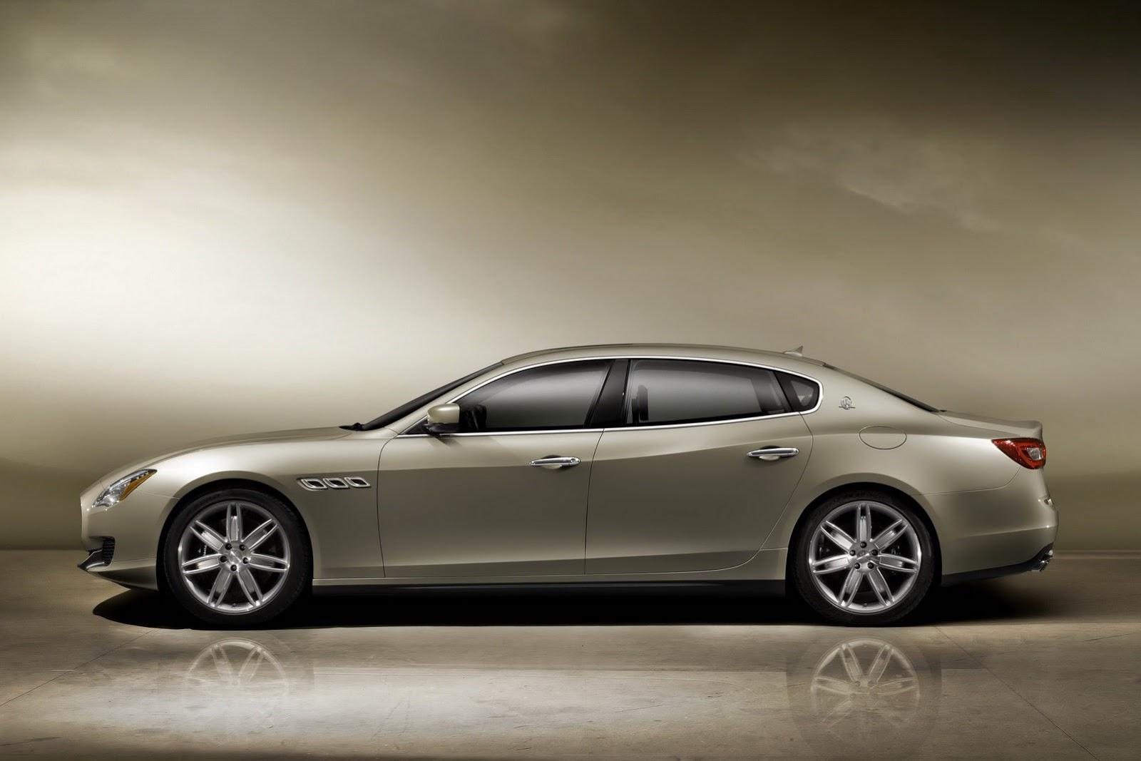 Maserati_Quattroporte_Profile