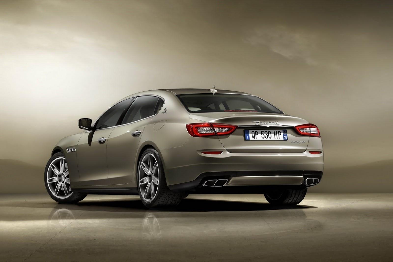 Maserati_Quattroporte_Rear