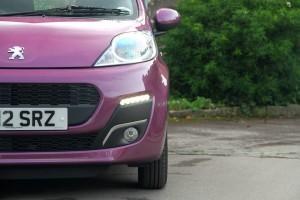 Peugeot 107 Front Lights