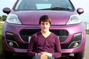 Sean Ward Peugeot 107