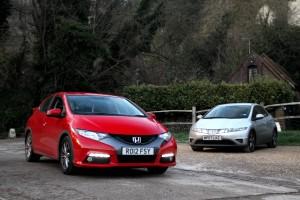 Honda Civic 4th and 3rd Generation