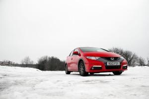 Honda Civic Snow