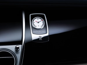 Rolls Royce Wraith Teaser Clock
