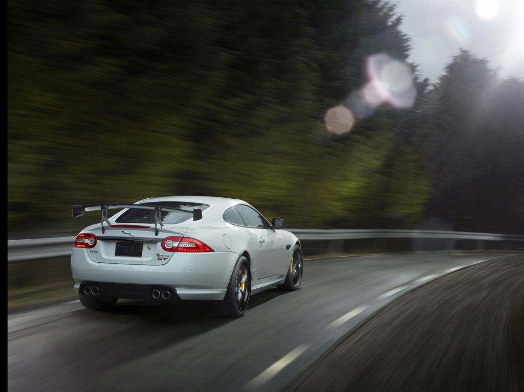Jaguar_XKR-S_GT_Rear_Driving