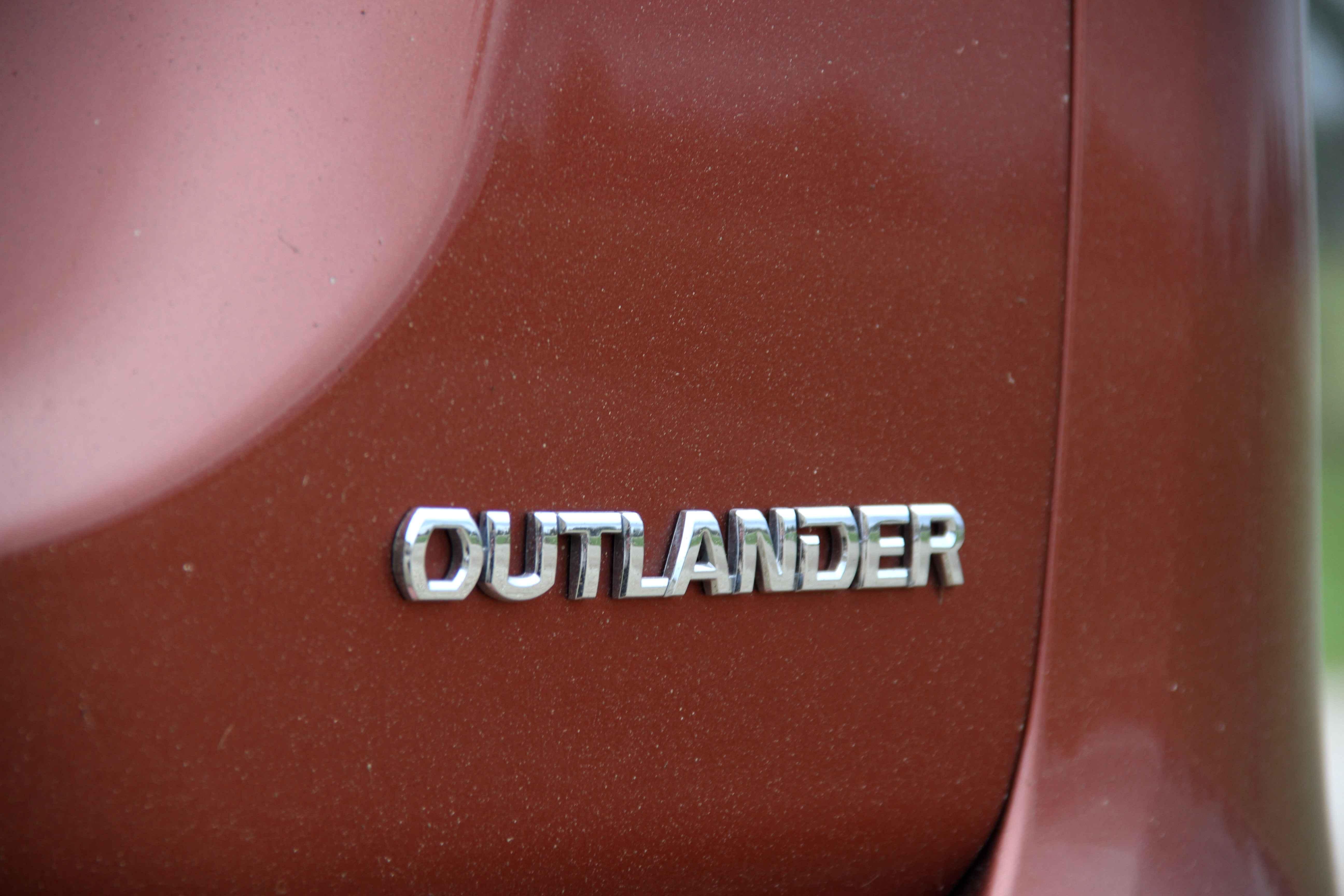 Mitsubishi Outlander 2013 Badge