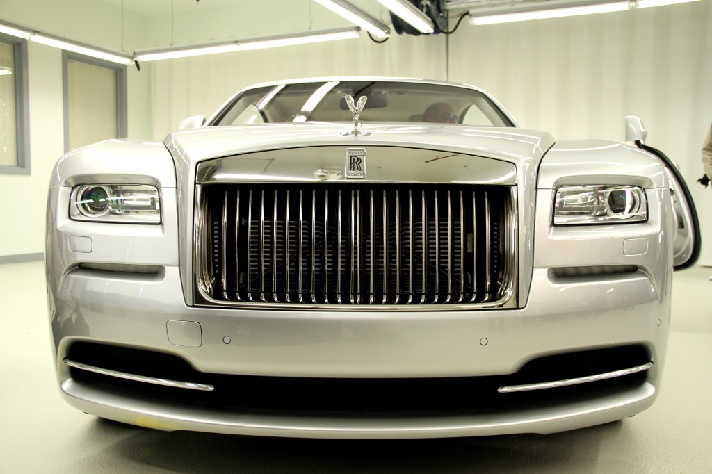 NewMotoring Rolls Royce Wraith Front Grille – NewMotoring