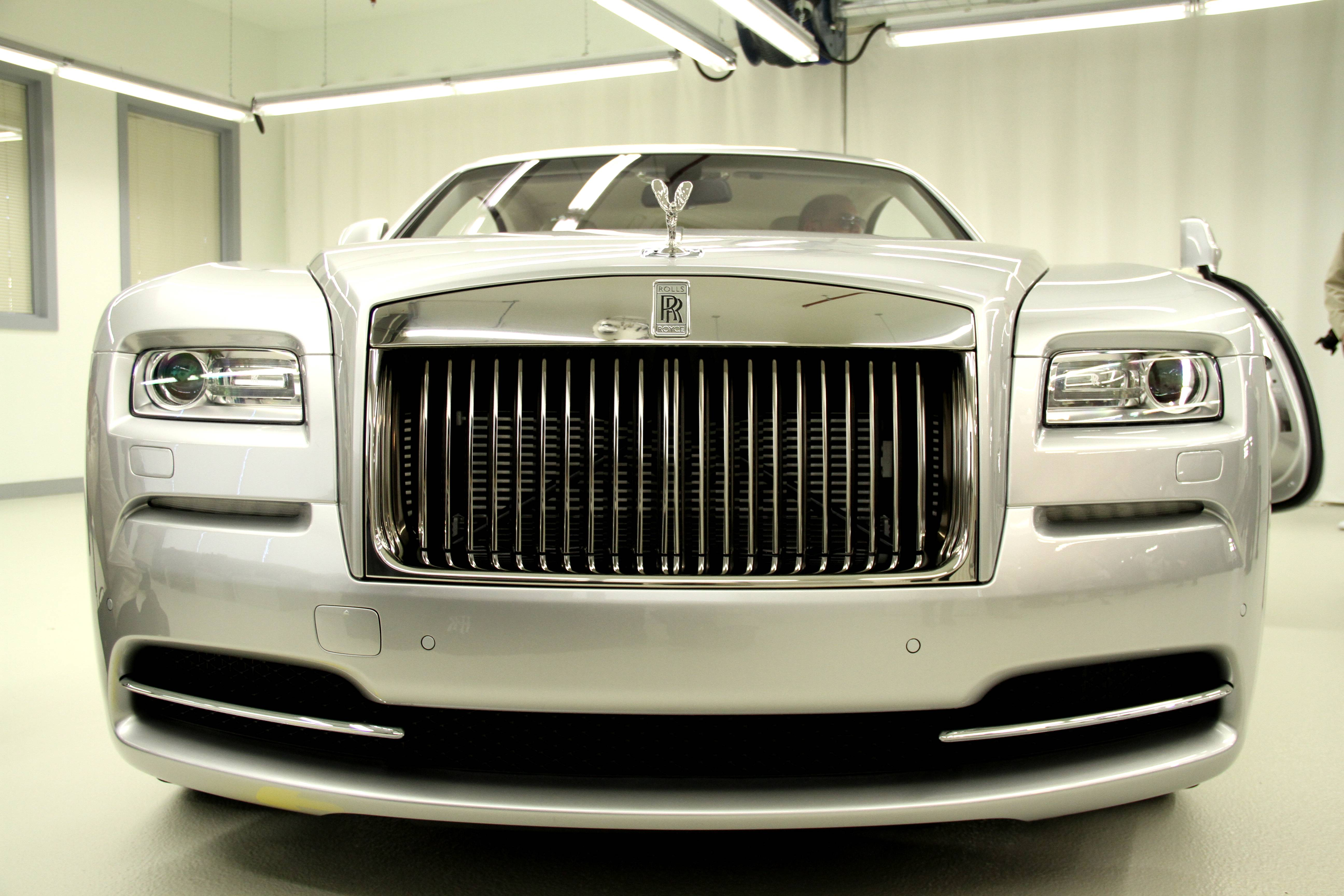 Rolls Royce Wraith Front Grille