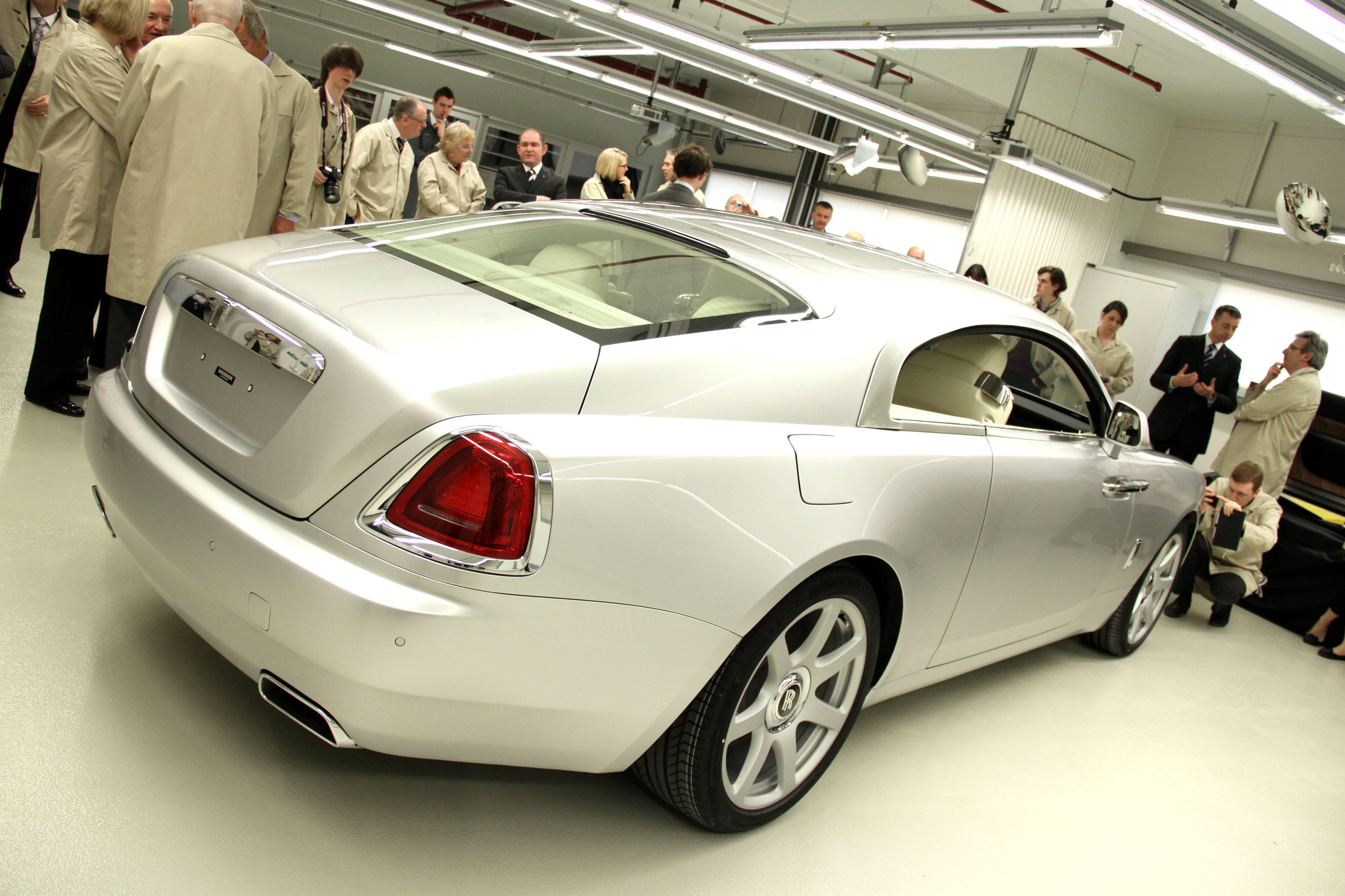 Rolls Royce Wraith Goodwood Launch