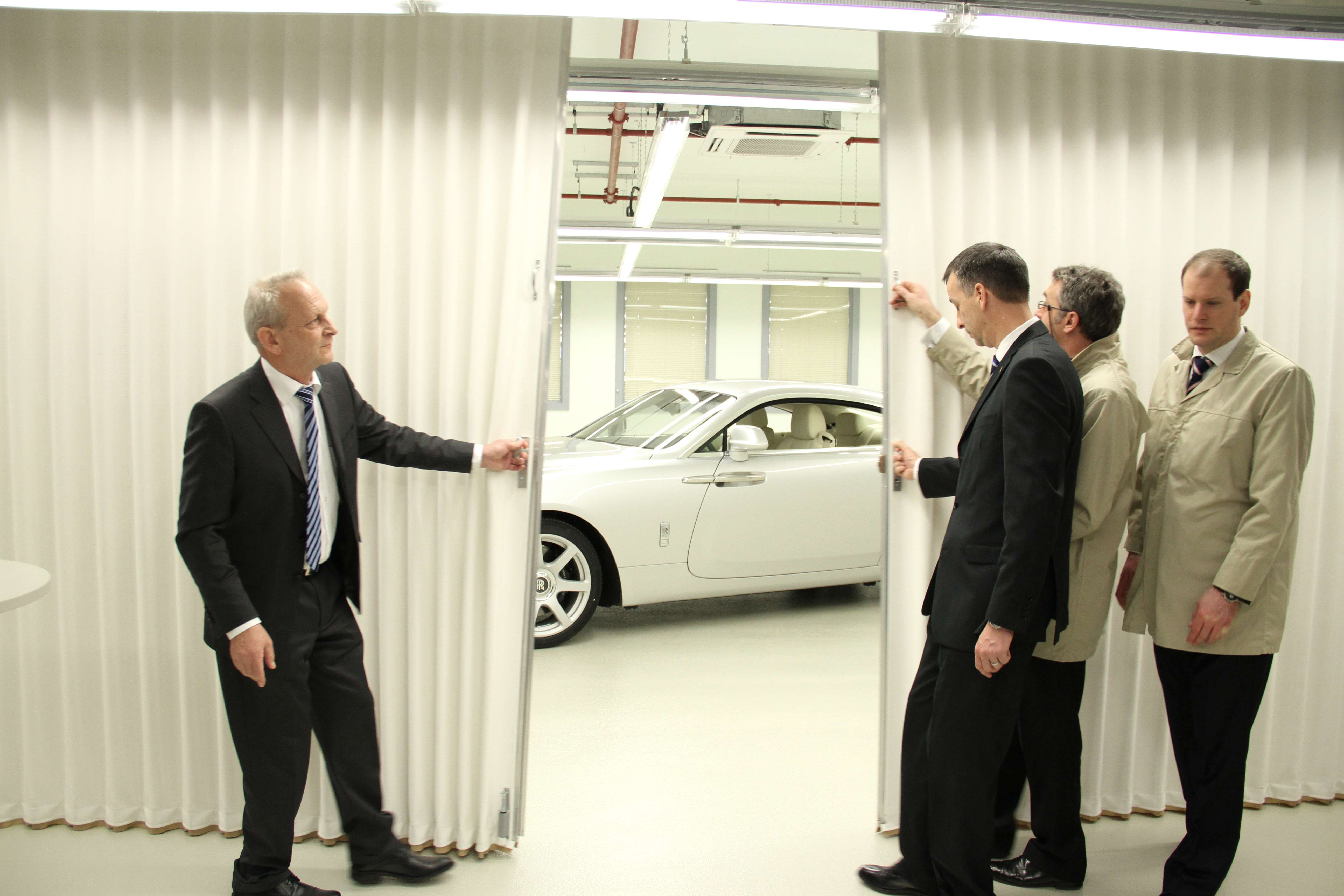Rolls Royce Wraith Goodwood Unveil