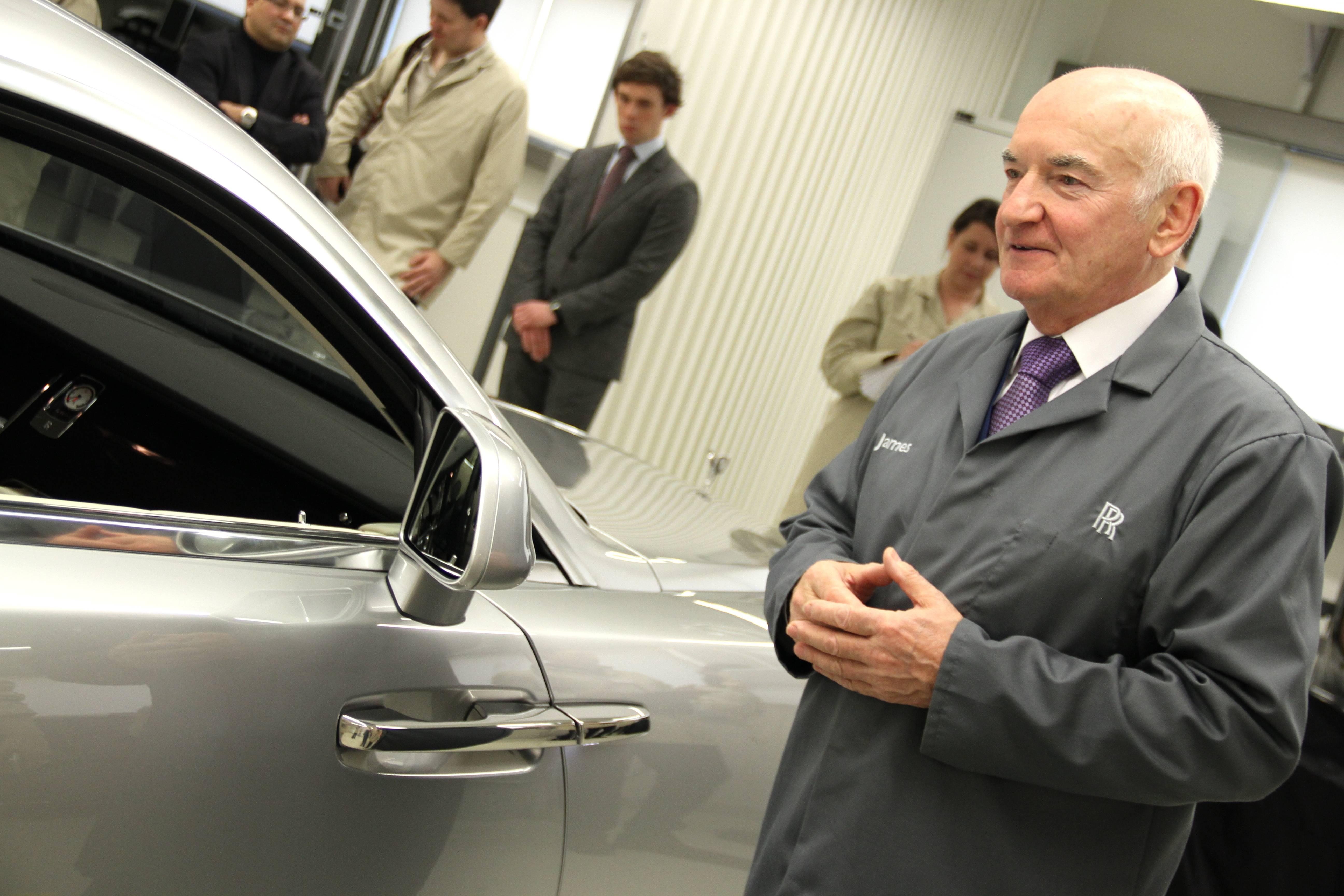 Rolls Royce Wraith James