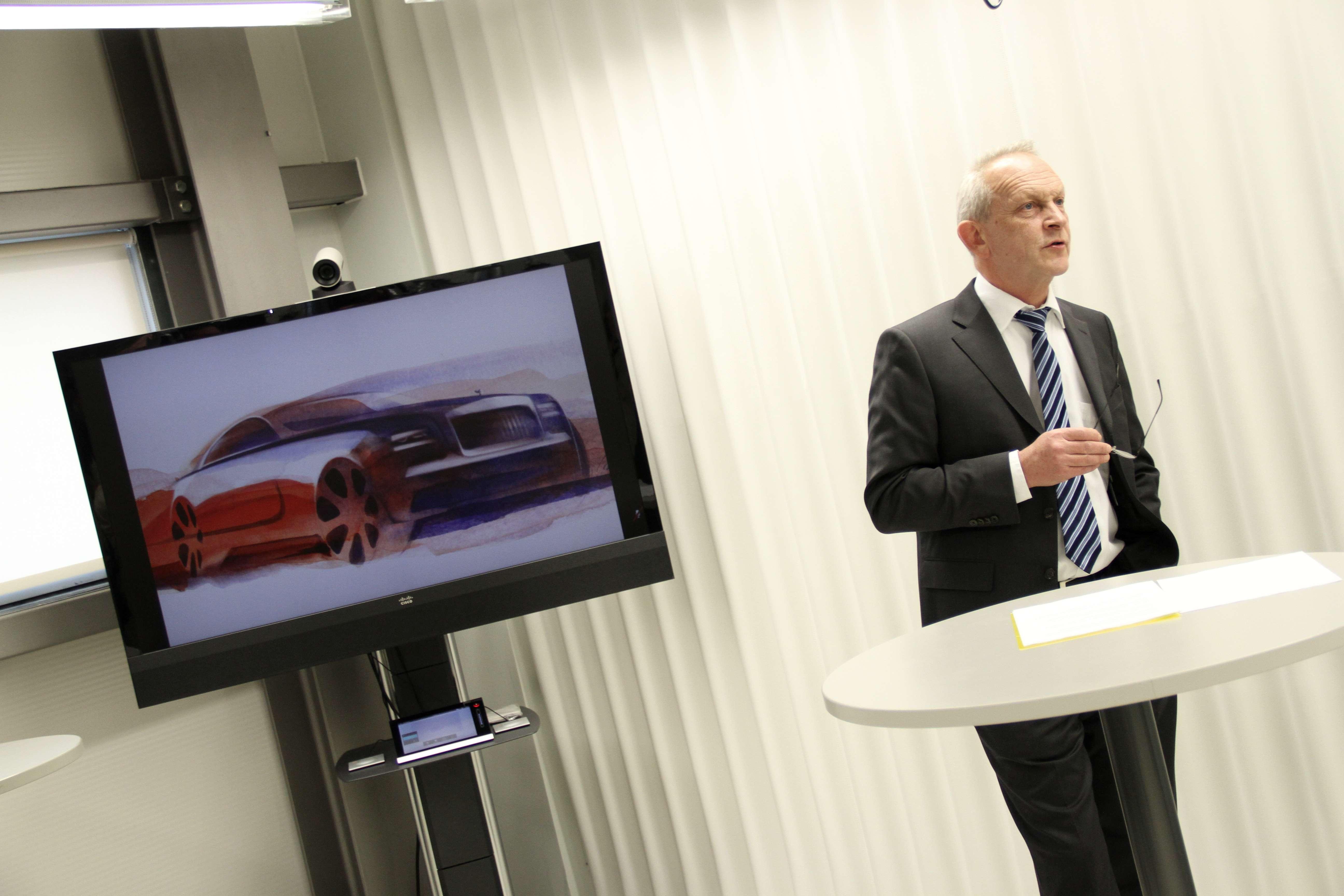 Rolls Royce Wraith Presentation