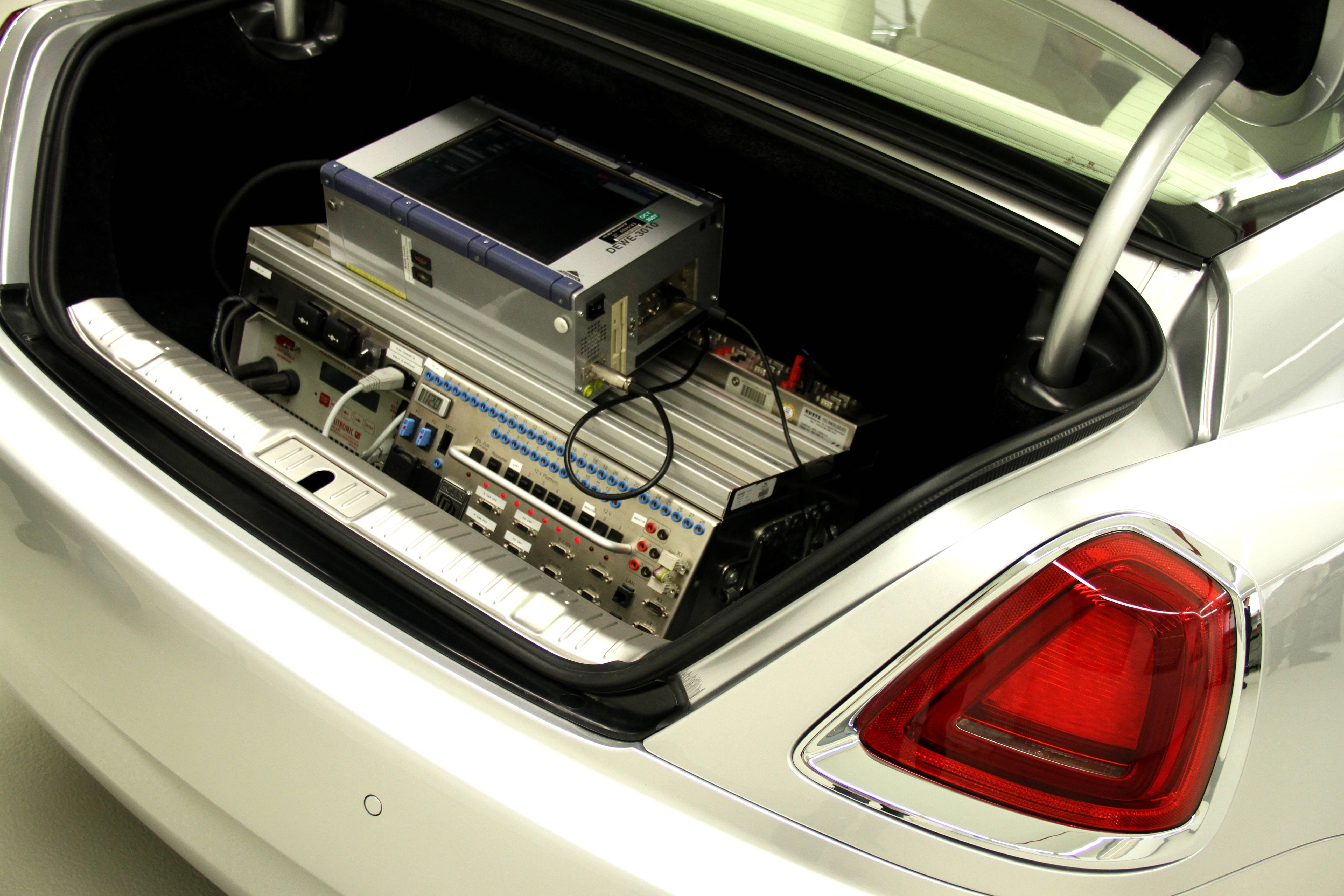 Rolls Royce Wraith Prototype Computer