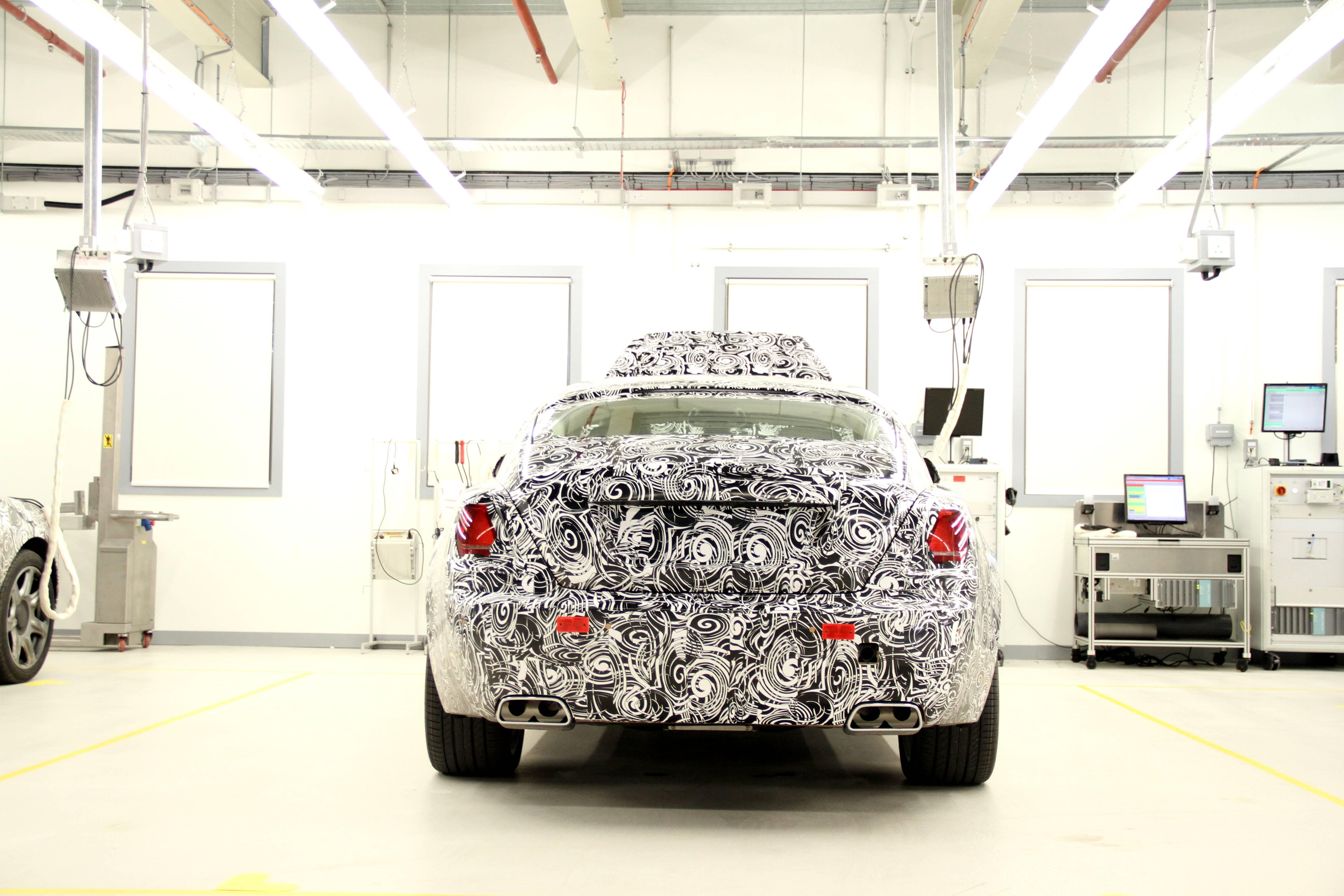 Rolls Royce Wraith Prototype Rear