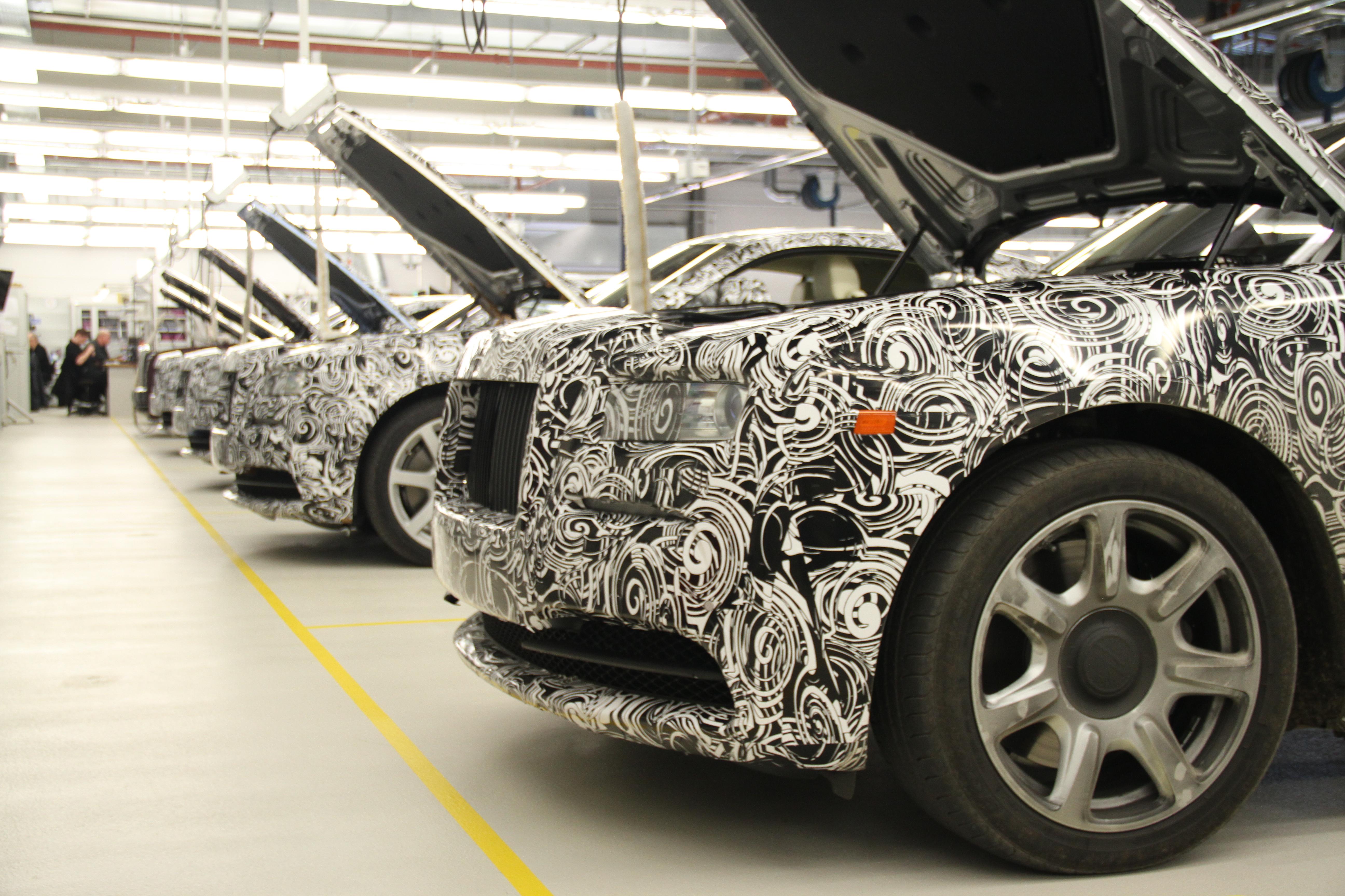 Rolls Royce Wraith Prototypes 2