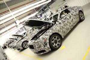 Rolls Royce Wraith Prototypes