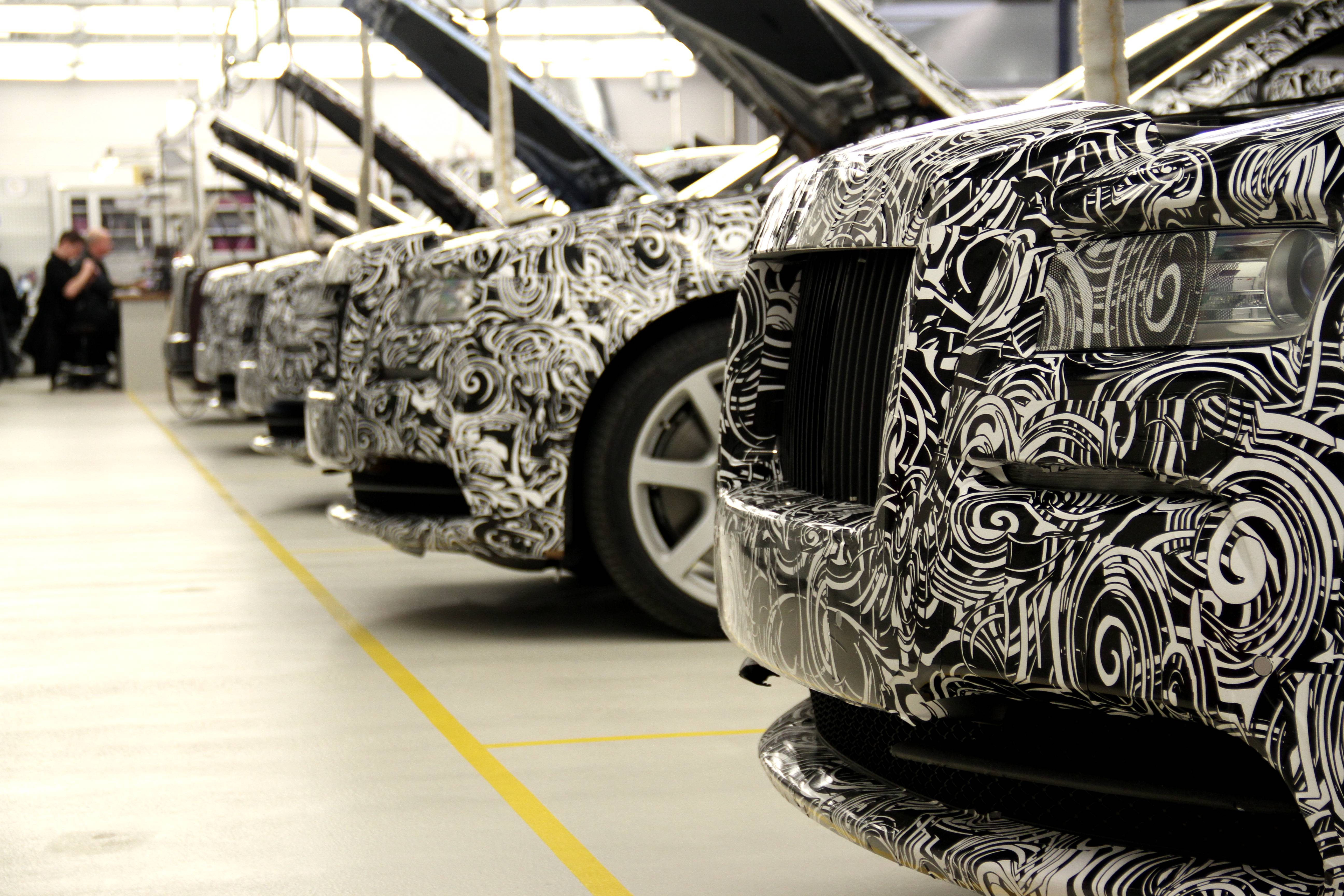 Rolls Royce Wraith Prototypes Grilles