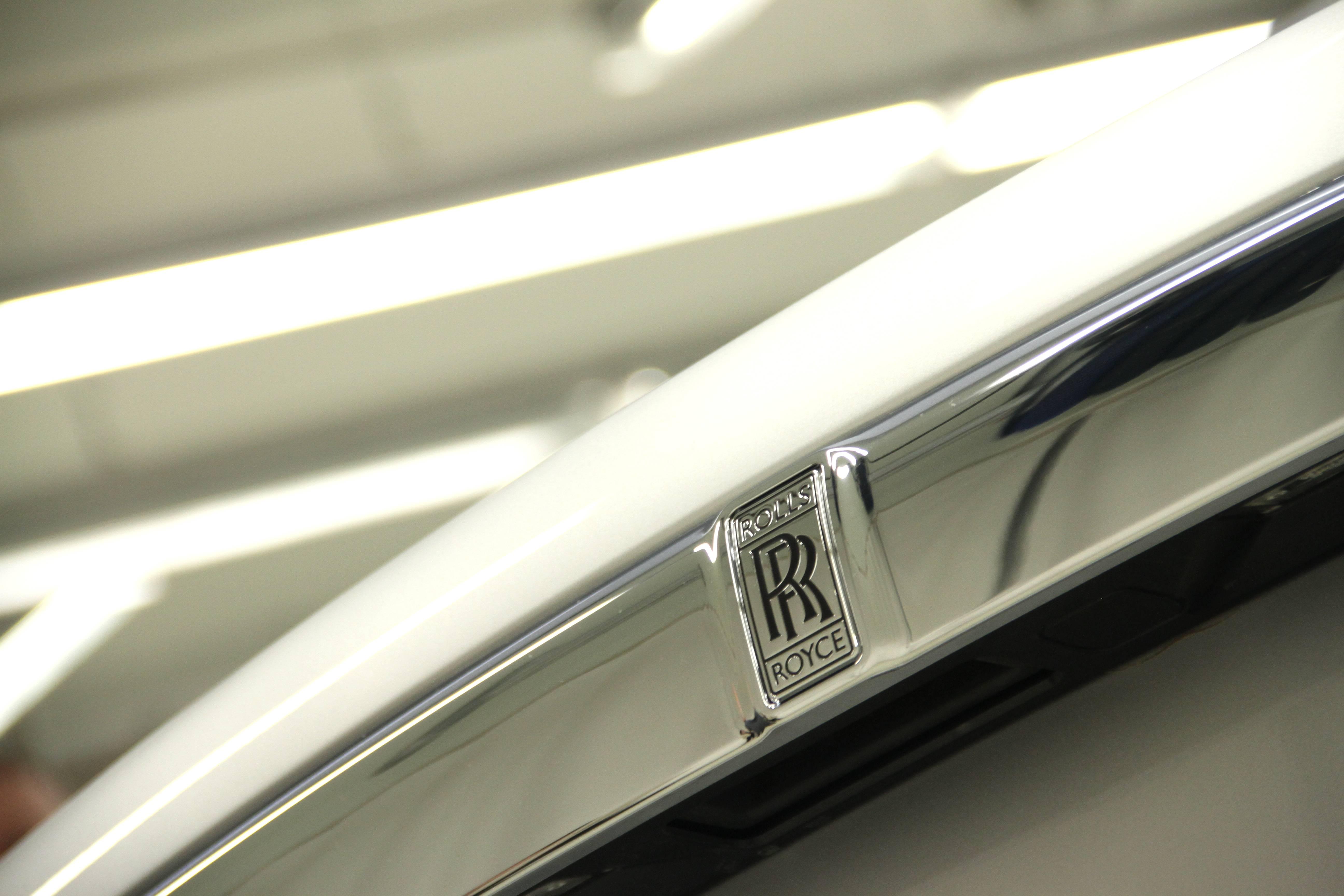 Rolls Royce Wraith Rear Badge