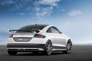Audi TT Ultra Quattro Concept Rear