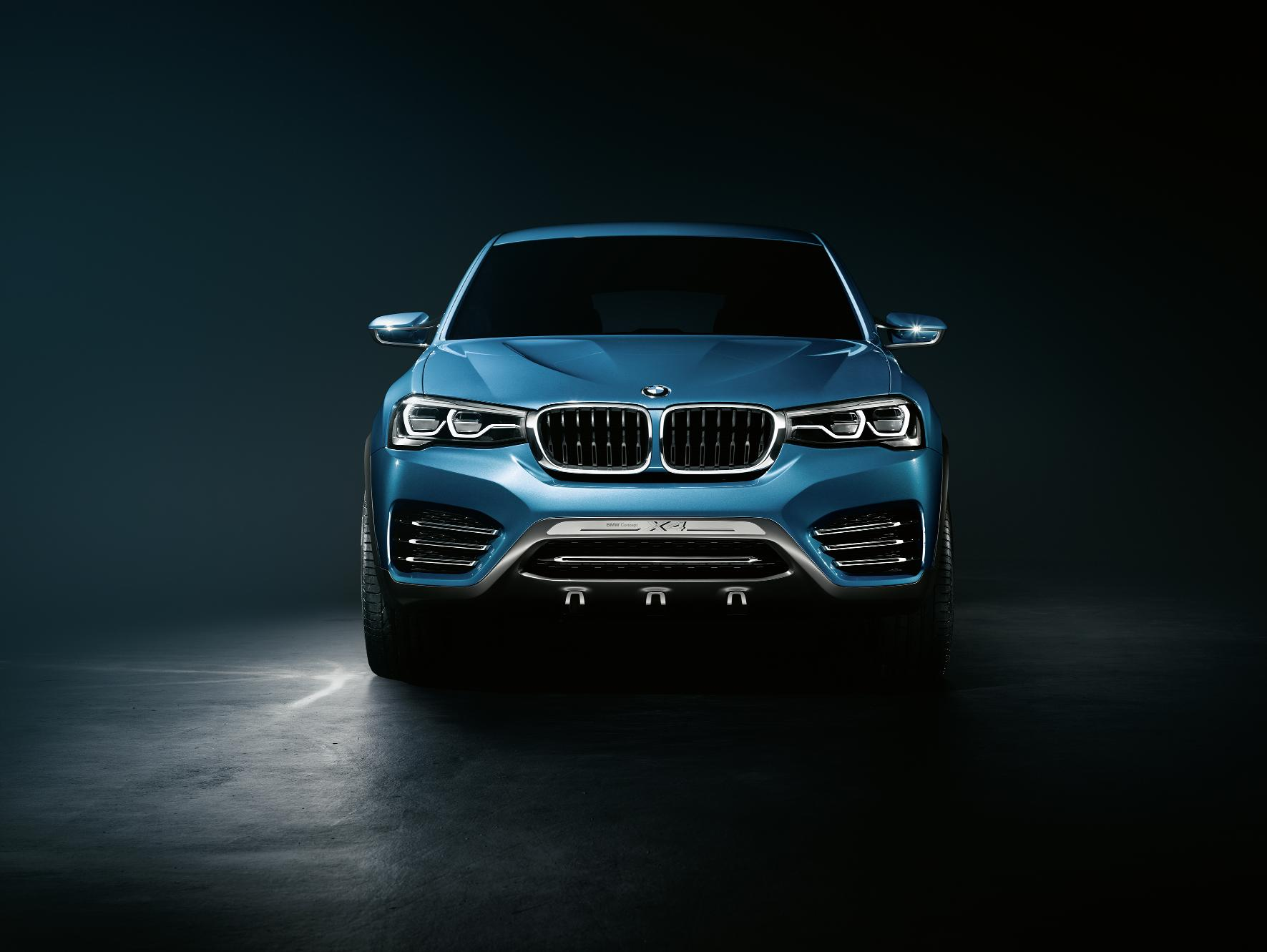 BMW X4 Concept Front
