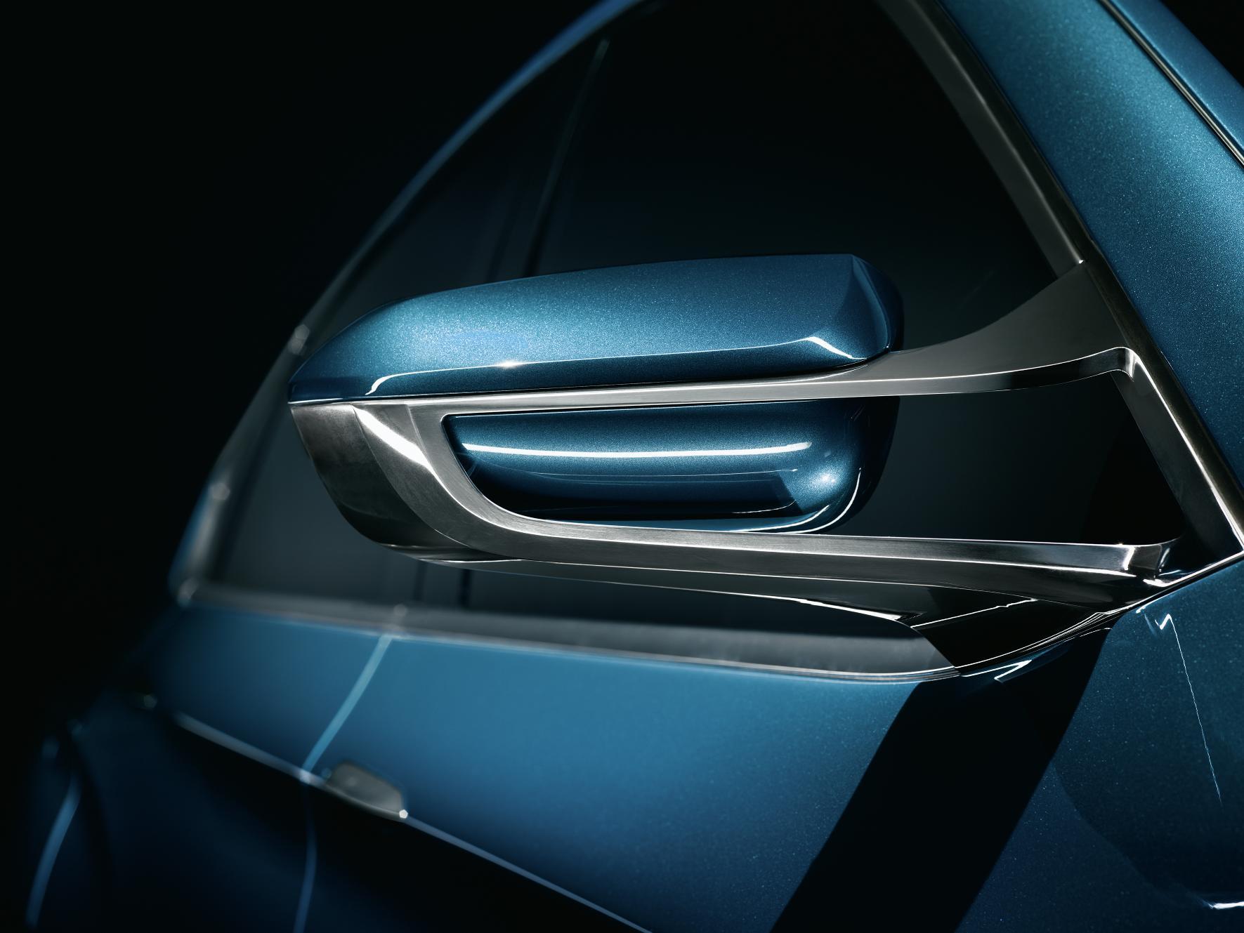 BMW X4 Concept Mirror