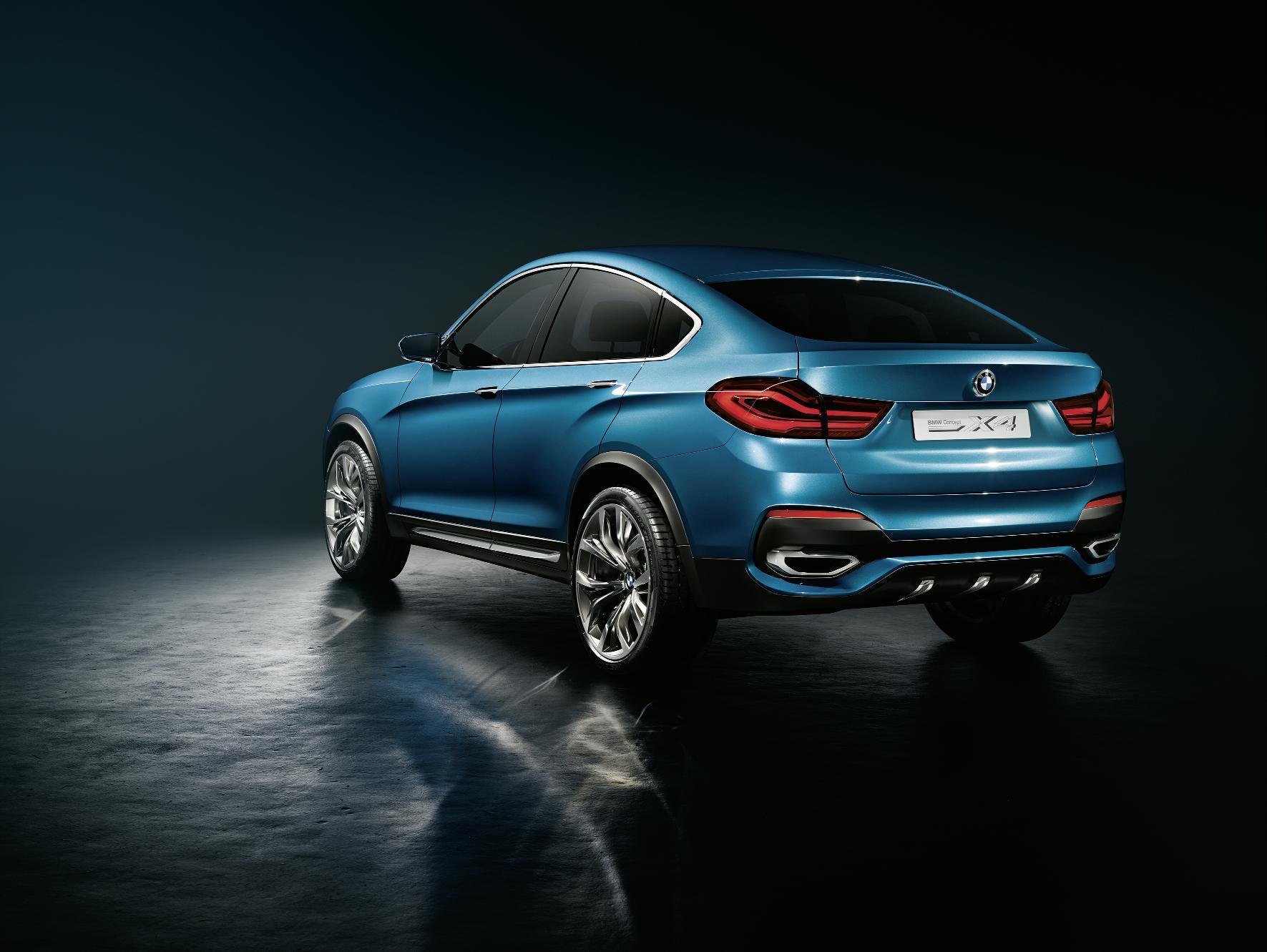 BMW X4 Concept Rear