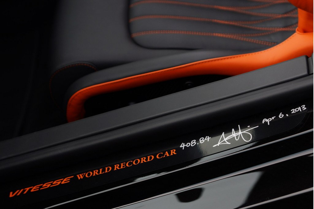 Bugatti Veyron Grand Sport Vitesse WRC David Liu Signature